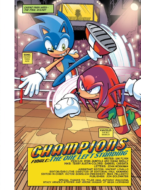 Read online Sonic Comics Spectacular: Speed of Sound comic -  Issue # Full - 59
