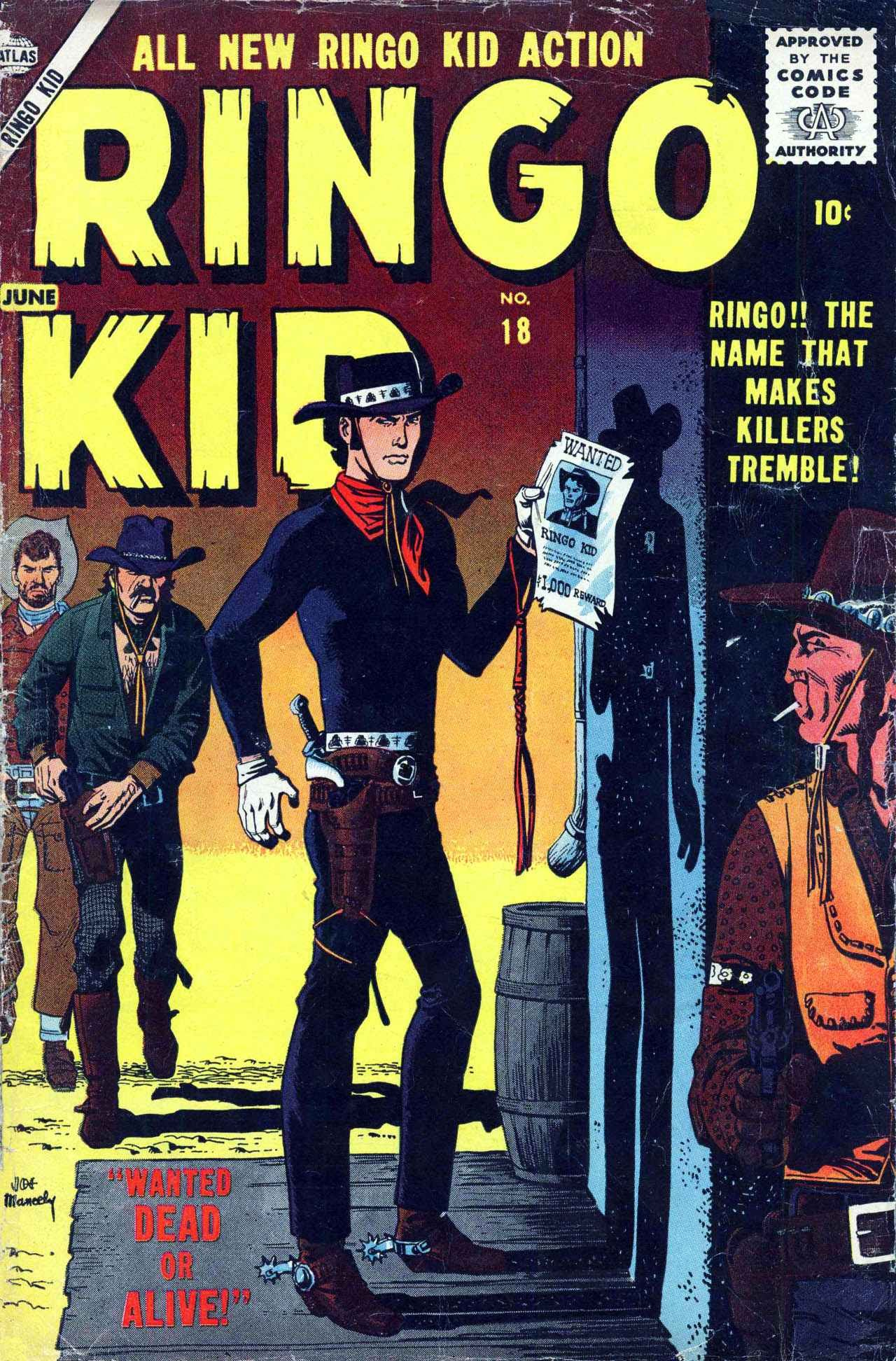 Ringo Kid 18 Page 1