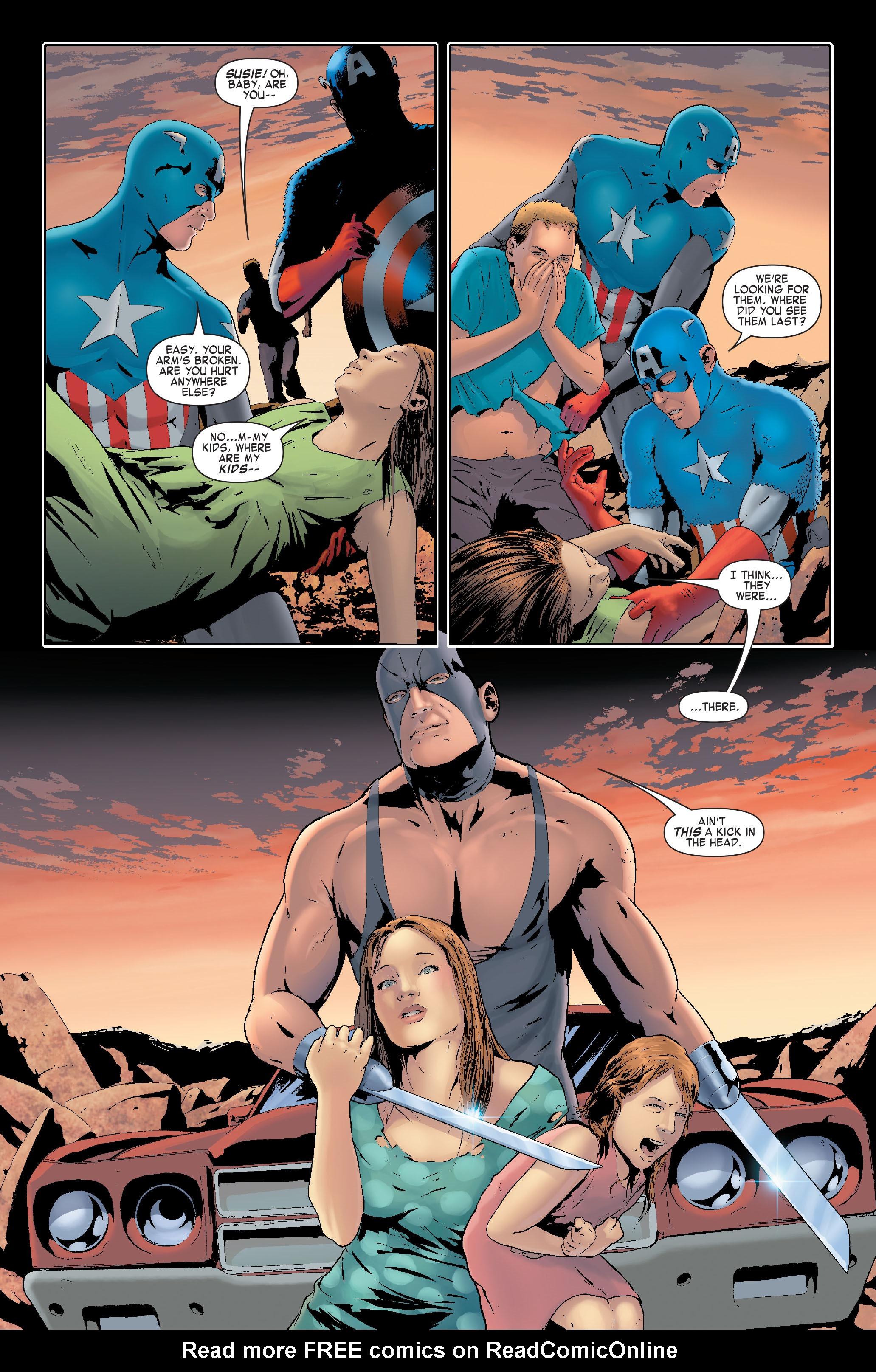 Read online Siege: Captain America comic -  Issue # Full - 13