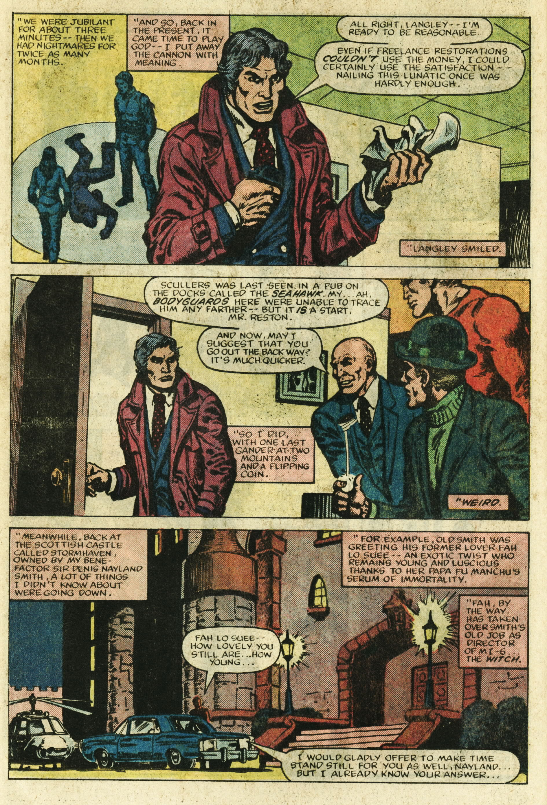 Read online Master of Kung Fu (1974) comic -  Issue #122 - 9