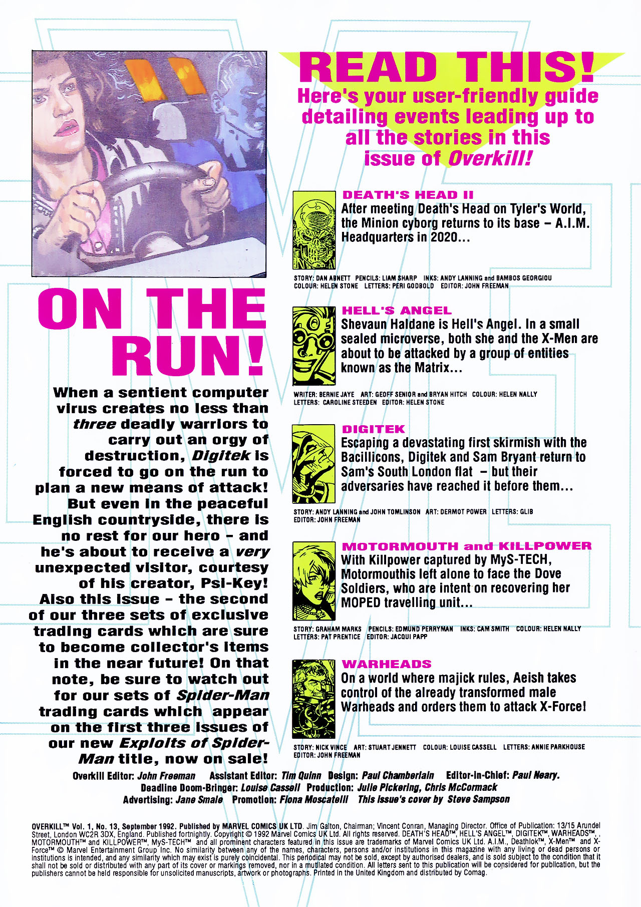 Read online Overkill comic -  Issue #13 - 2