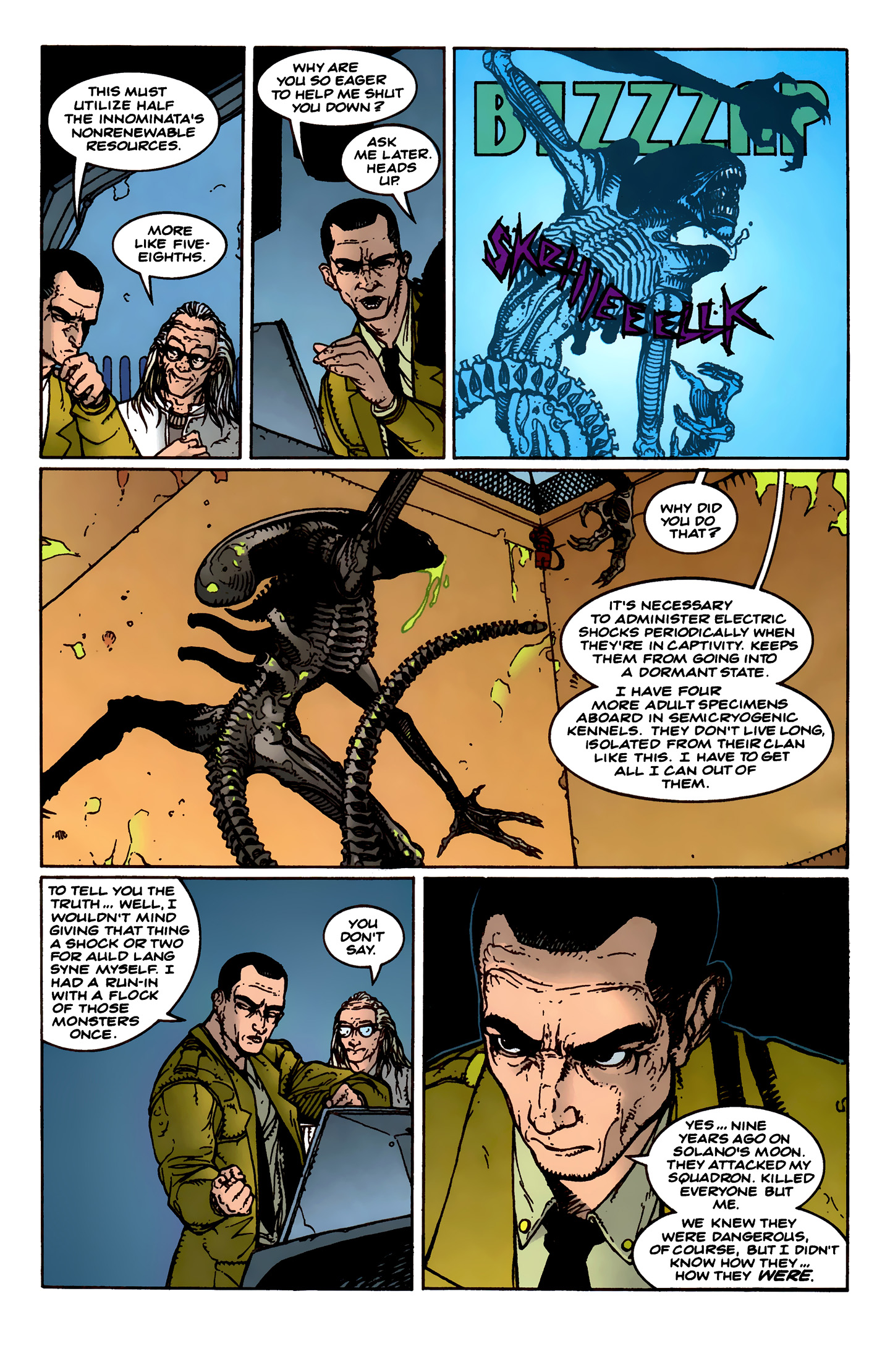 Read online Aliens: Labyrinth comic -  Issue #1 - 14