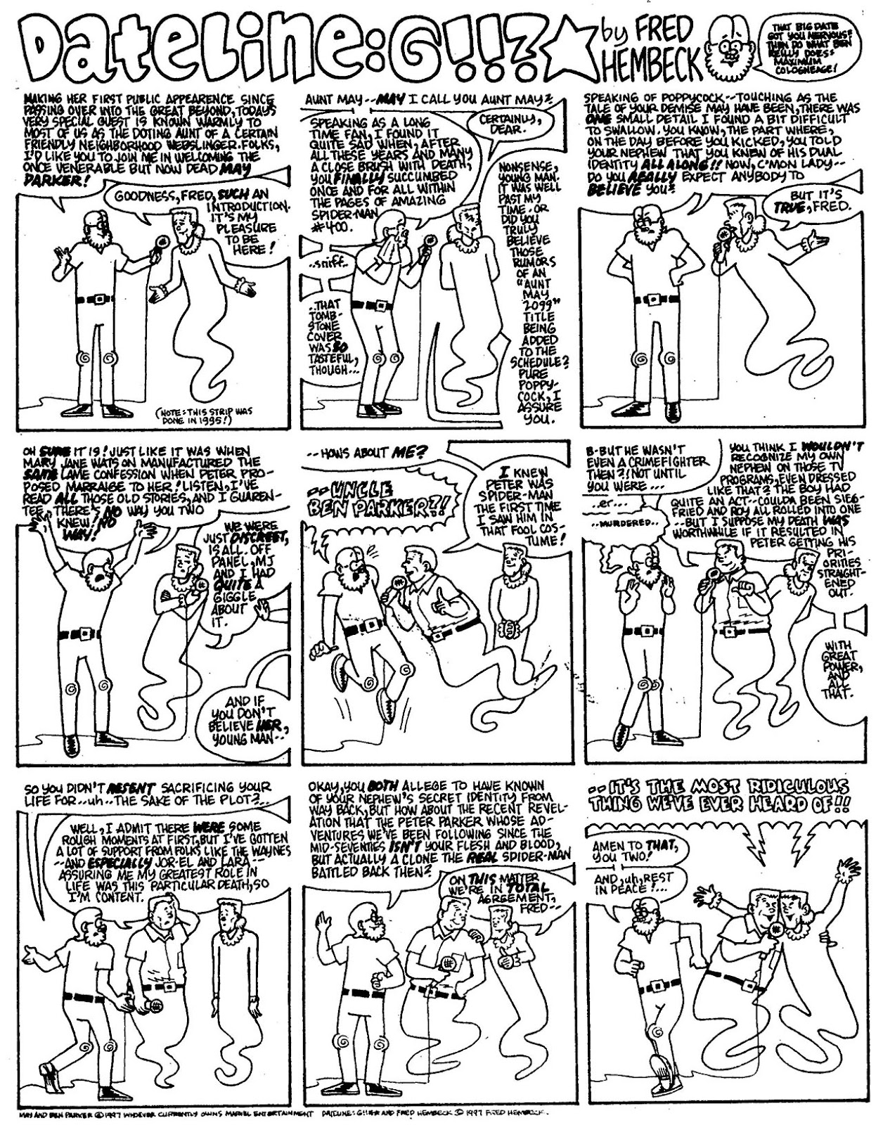 Read online The Nearly Complete Essential Hembeck Archives Omnibus comic -  Issue # TPB (Part 7) - 26