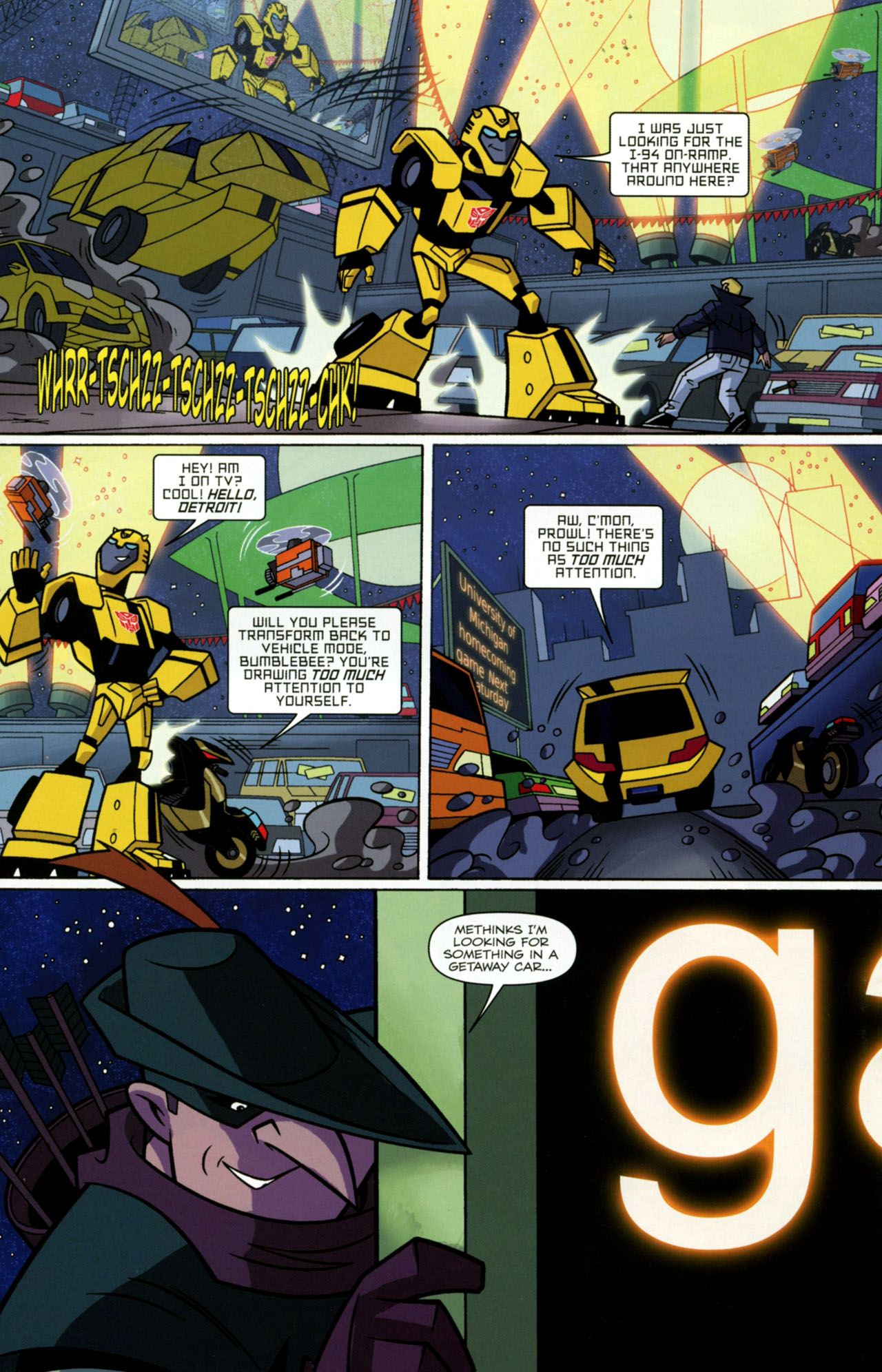 Read online Transformers Animated: The Arrival comic -  Issue #2 - 5
