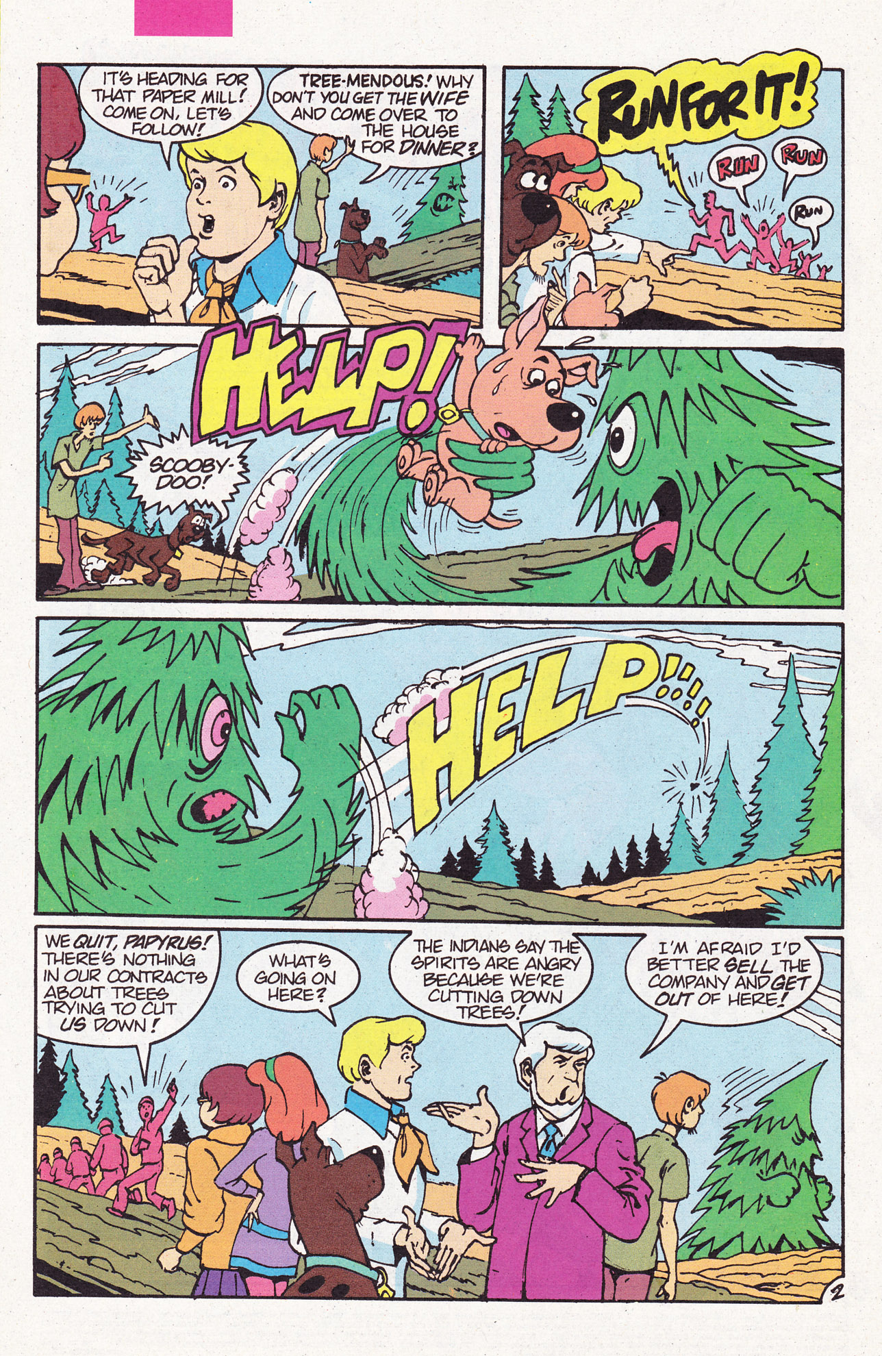 Read online Scooby-Doo (1995) comic -  Issue #6 - 4