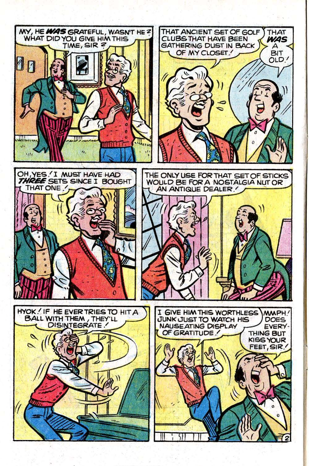 Read online Archie (1960) comic -  Issue #261 - 4