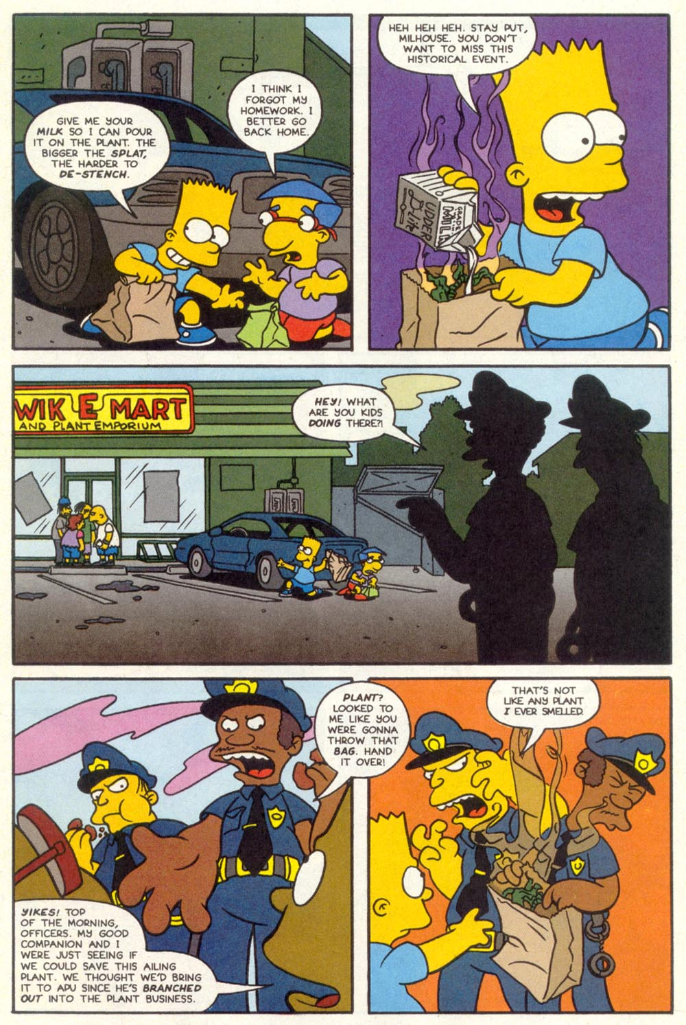 Read online Treehouse of Horror comic -  Issue #1 - 9