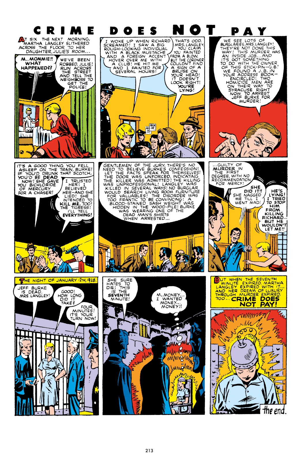Read online Crime Does Not Pay Archives comic -  Issue # TPB 10 (Part 3) - 14