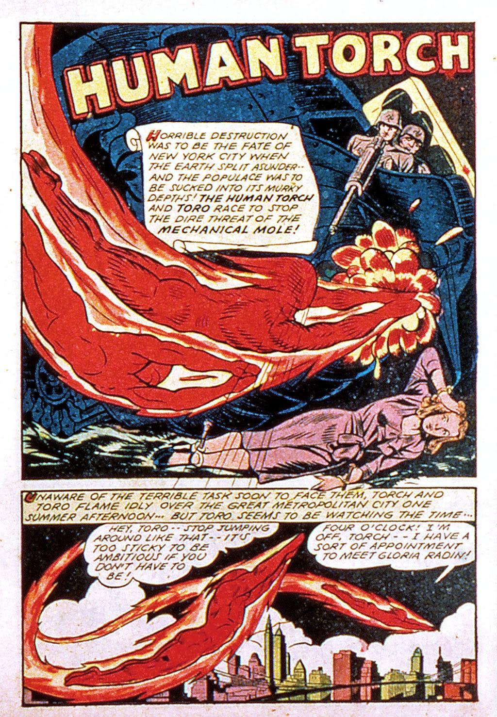 Read online Mystic Comics (1944) comic -  Issue #1 - 19
