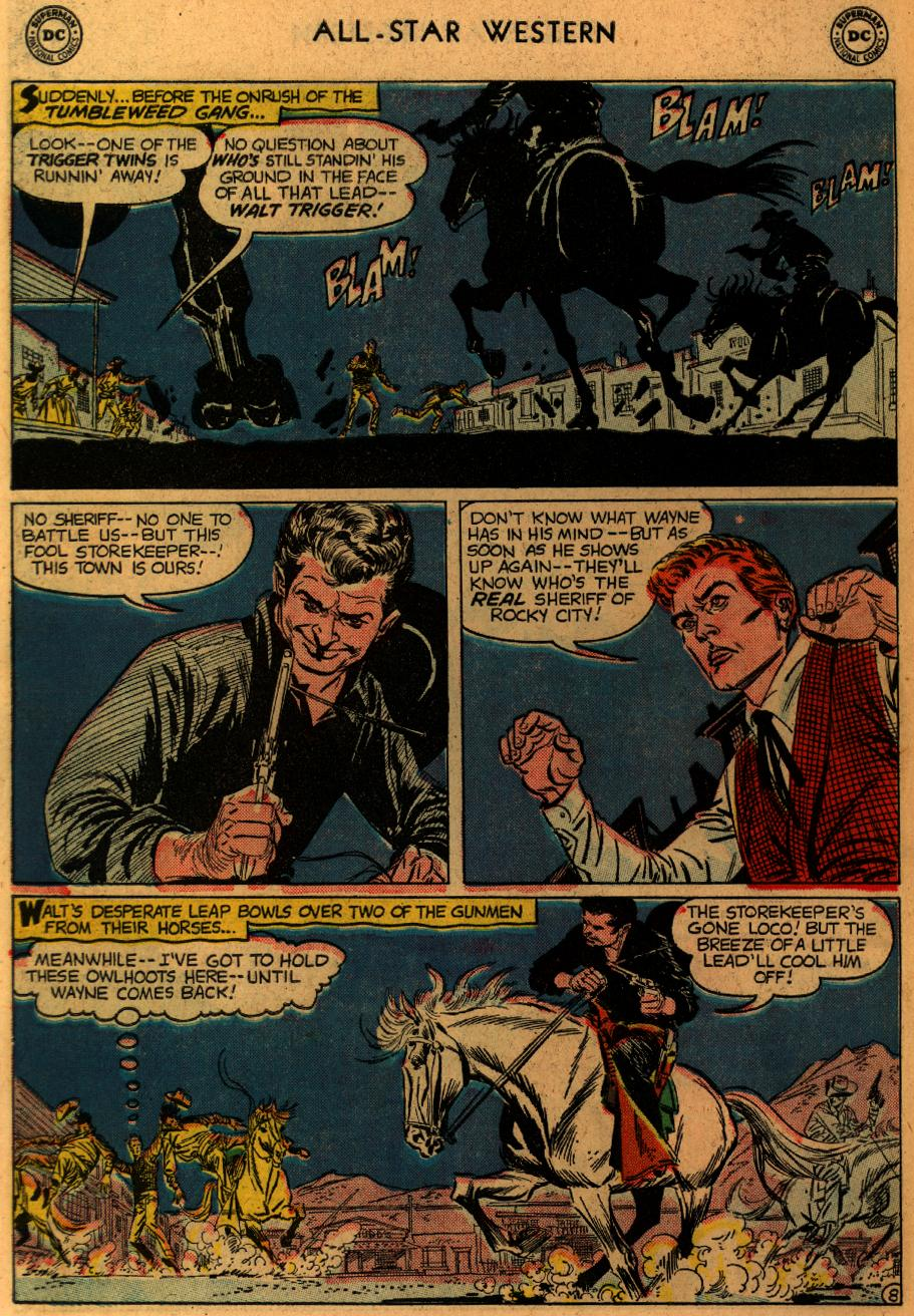Read online All-Star Western (1951) comic -  Issue #102 - 10
