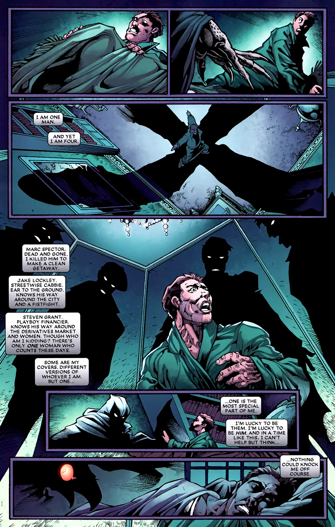 Read online Shadowland: Moon Knight comic -  Issue #1 - 14