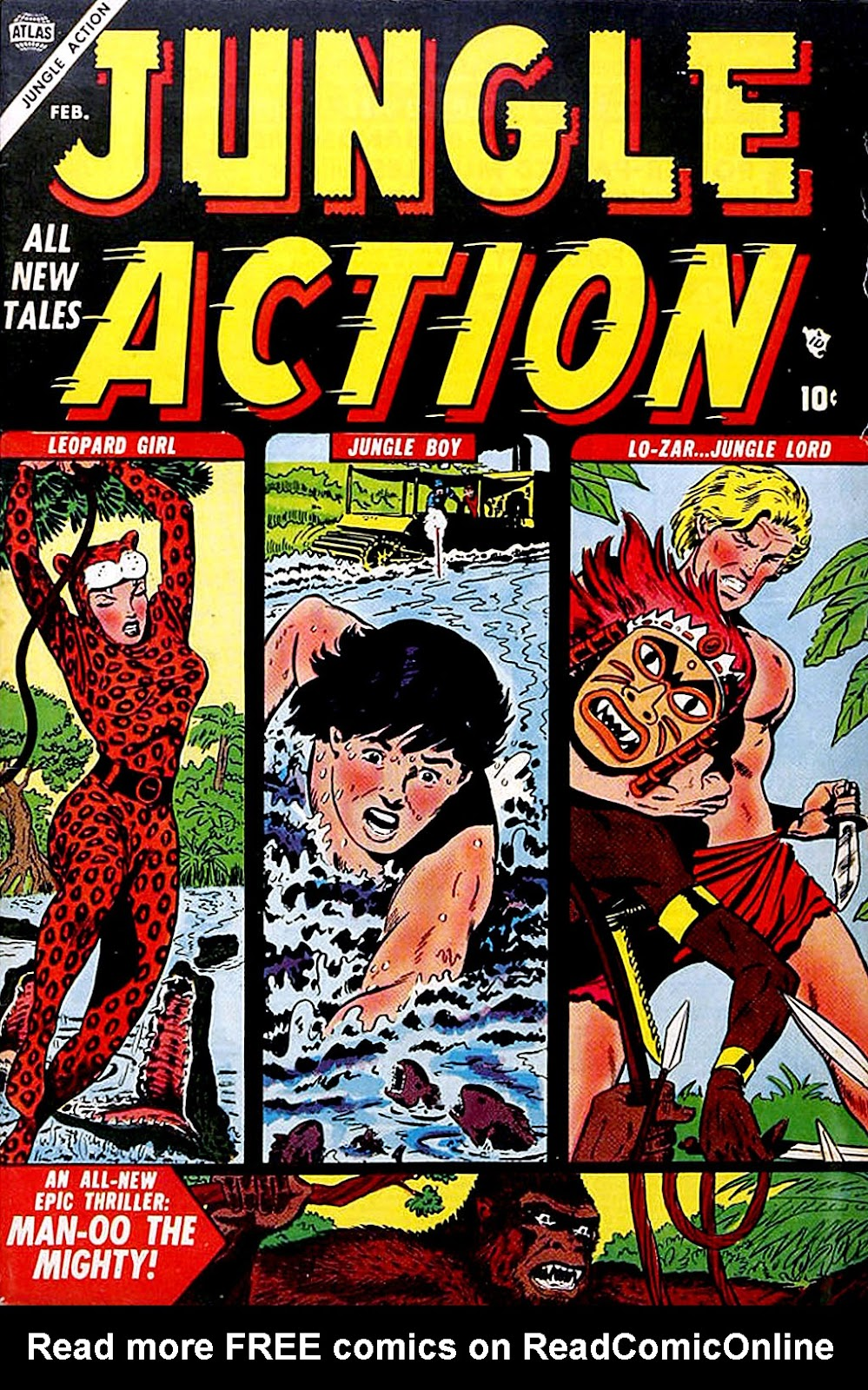 Jungle Action (1954) issue 3 - Page 1