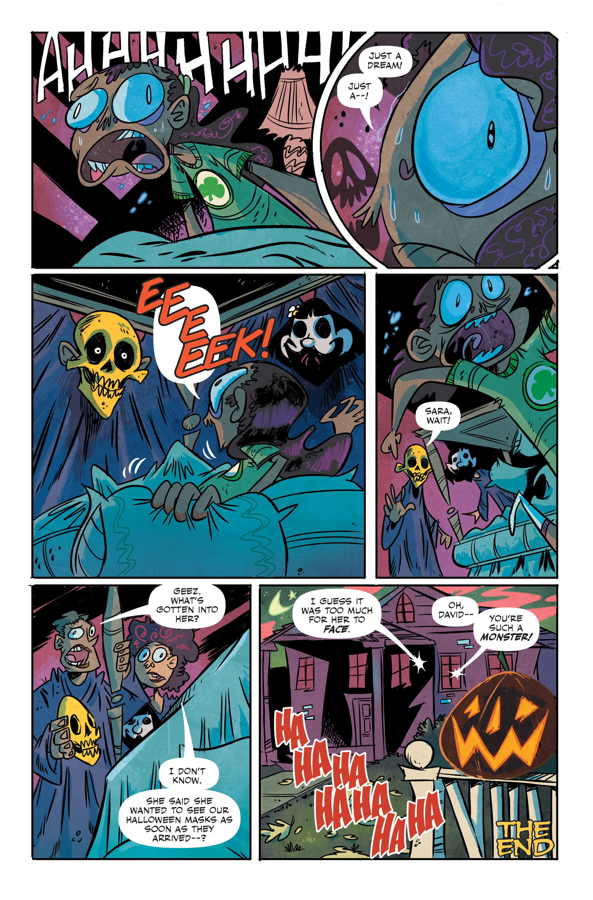 Read online Spook House comic -  Issue #5 - 16