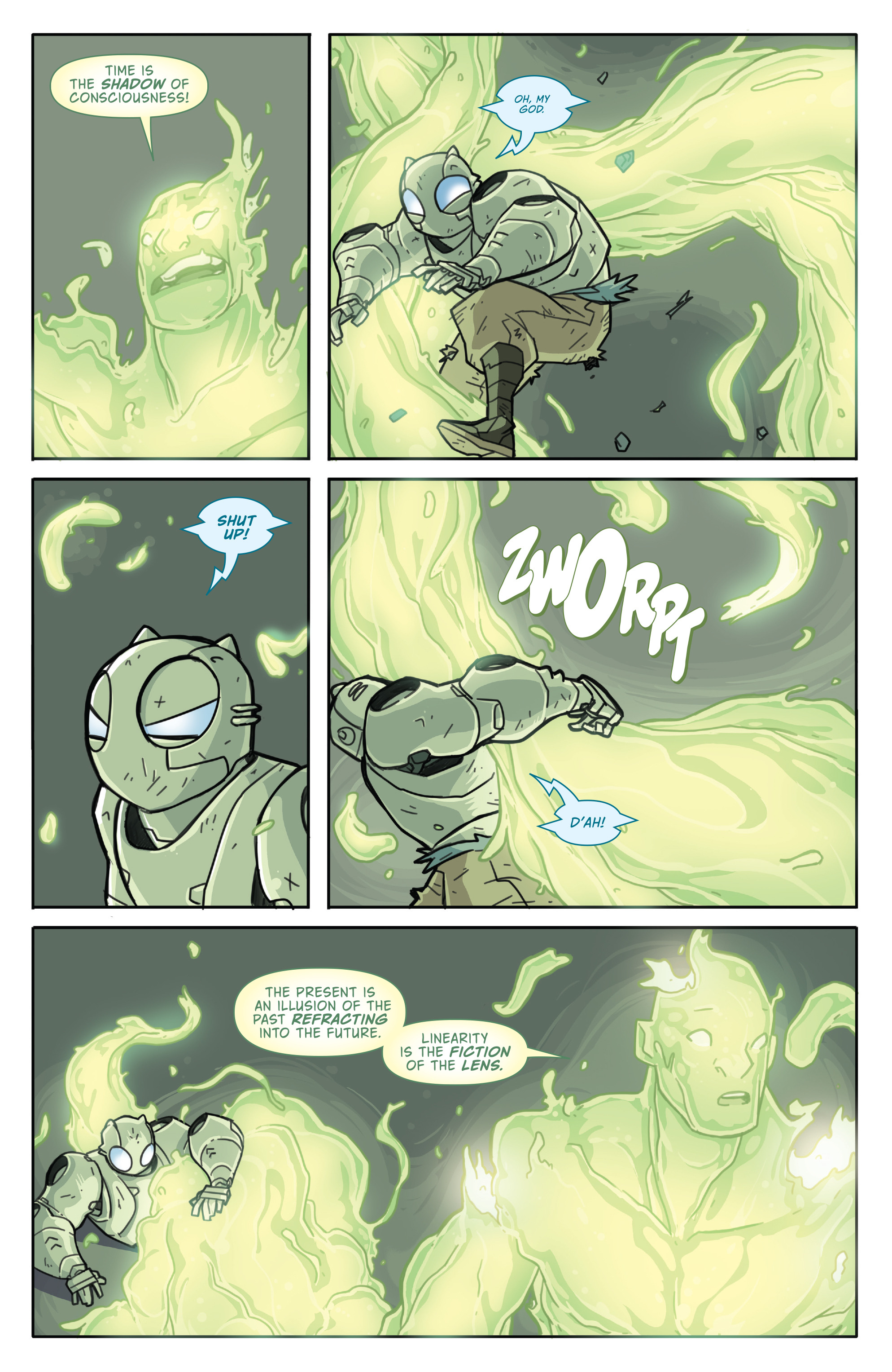 Read online Atomic Robo and the Temple of Od comic -  Issue #5 - 10