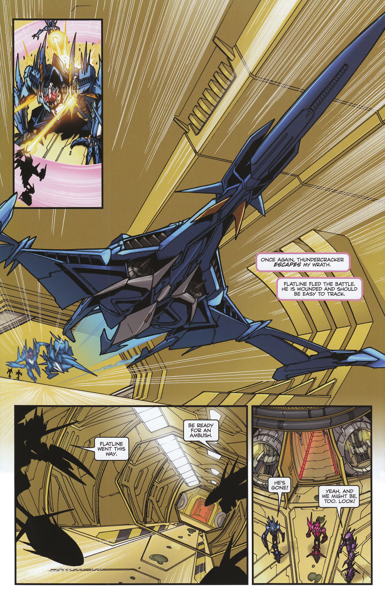 Read online Transformers: Tales of The Fallen comic -  Issue #6 - 22