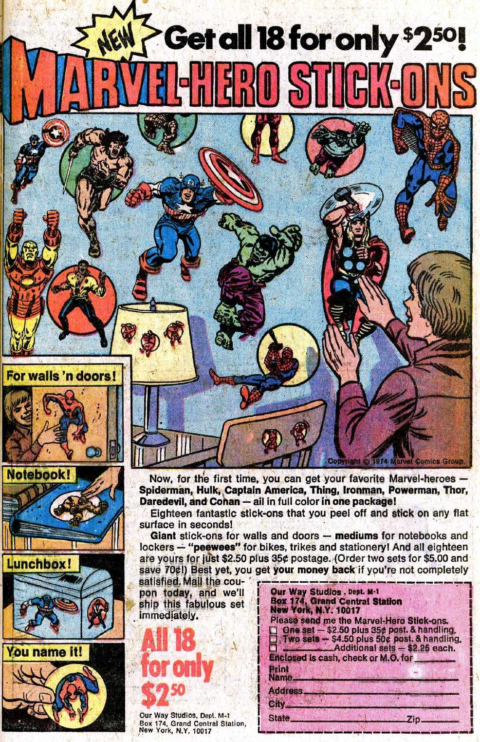 Giant-Size Fantastic Four issue 5 - Page 57