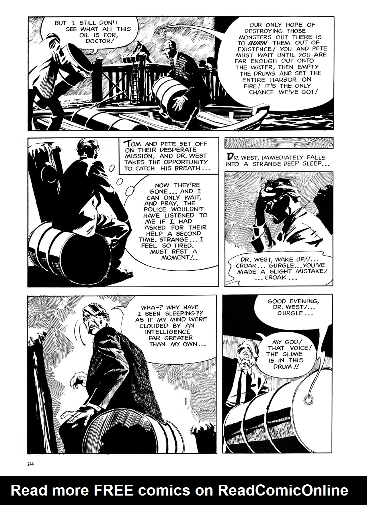 Read online Eerie Archives comic -  Issue # TPB 6 - 243