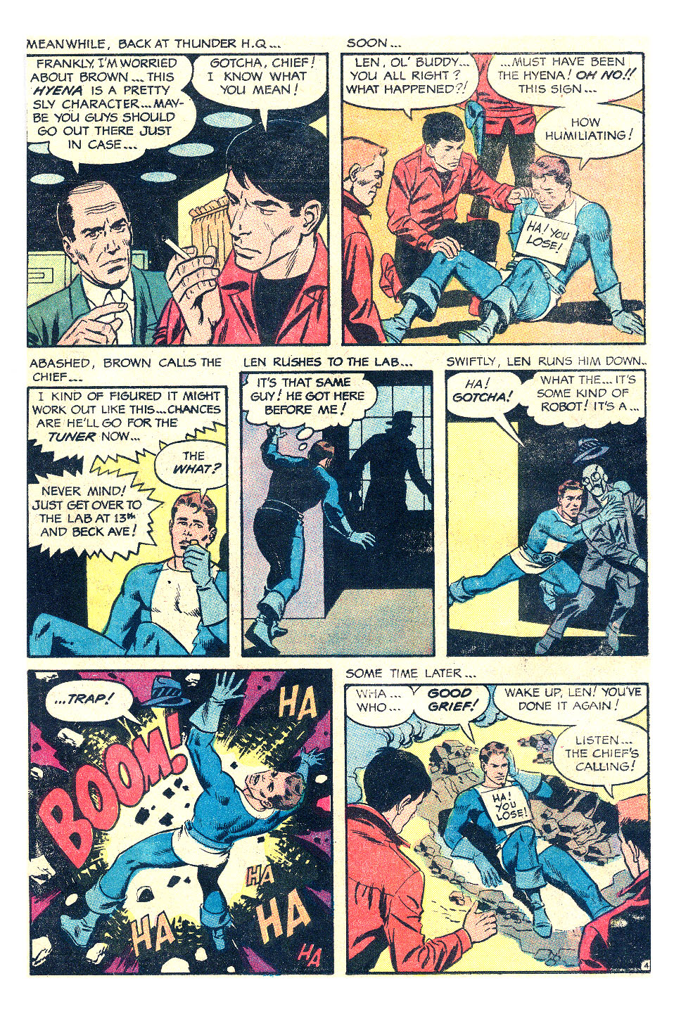 T.H.U.N.D.E.R. Agents (1965) issue 17 - Page 9