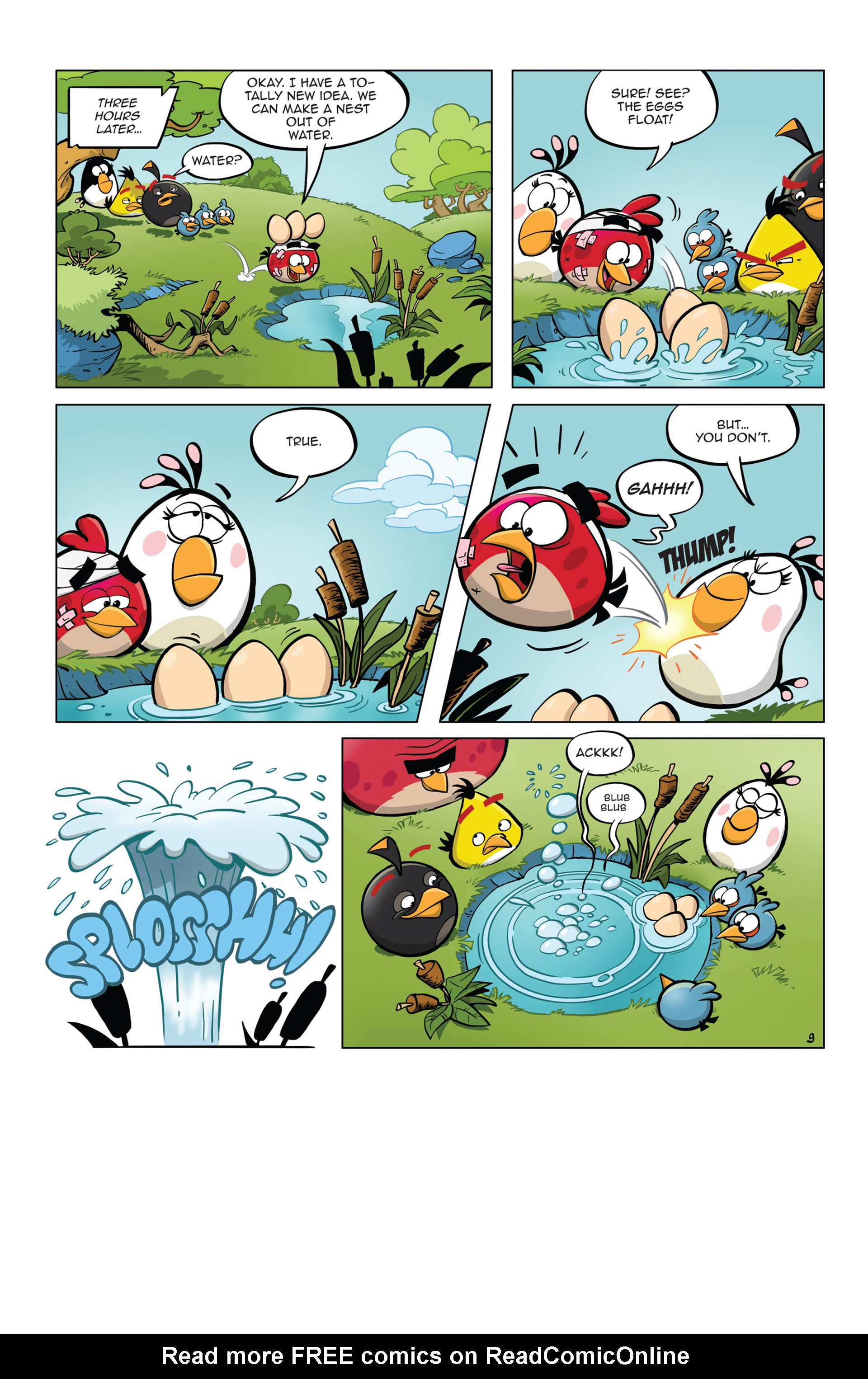 Read online Angry Birds Comics (2014) comic -  Issue #5 - 21