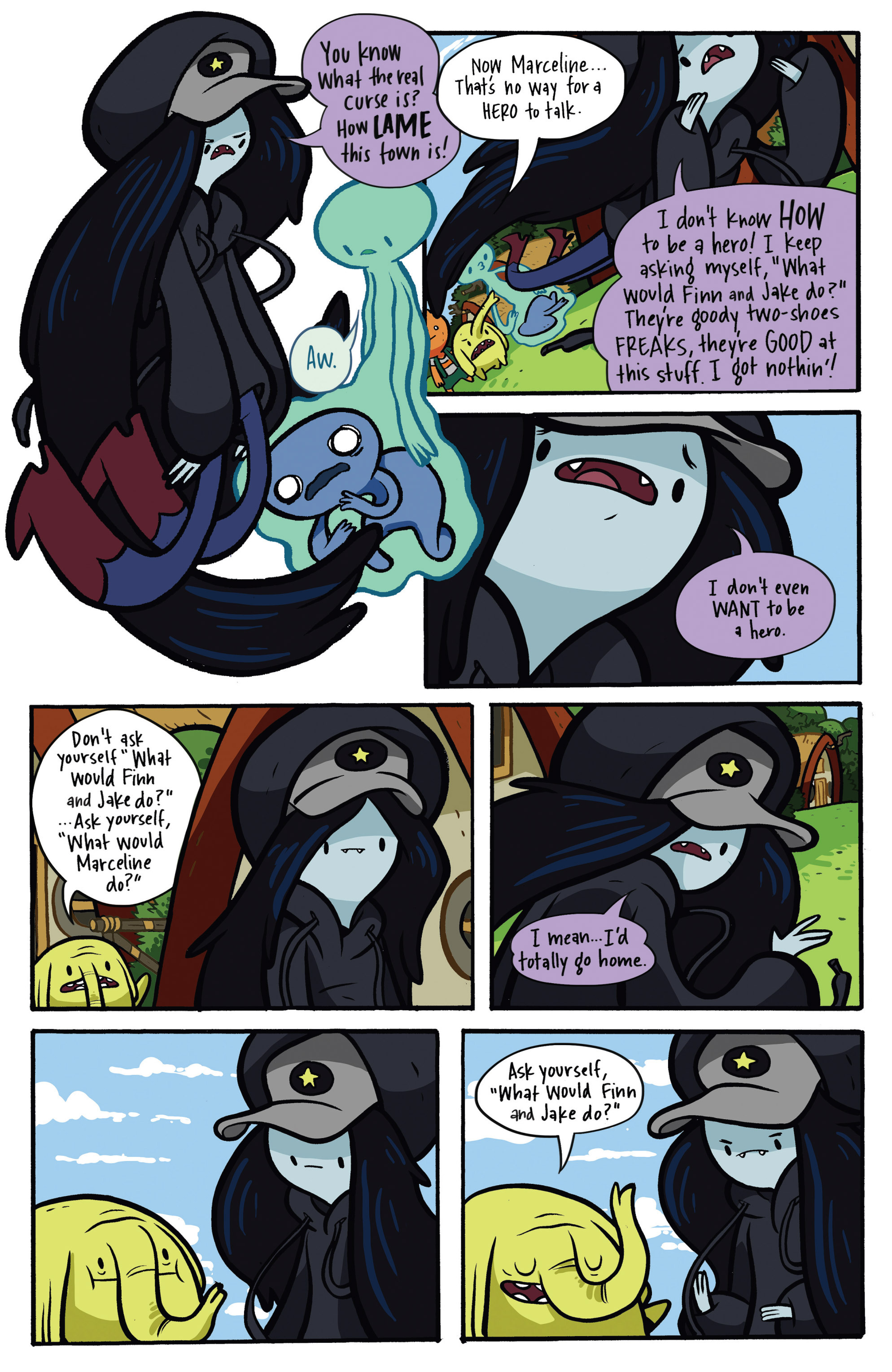 Read online Adventure Time: Candy Capers comic -  Issue #2 - 15