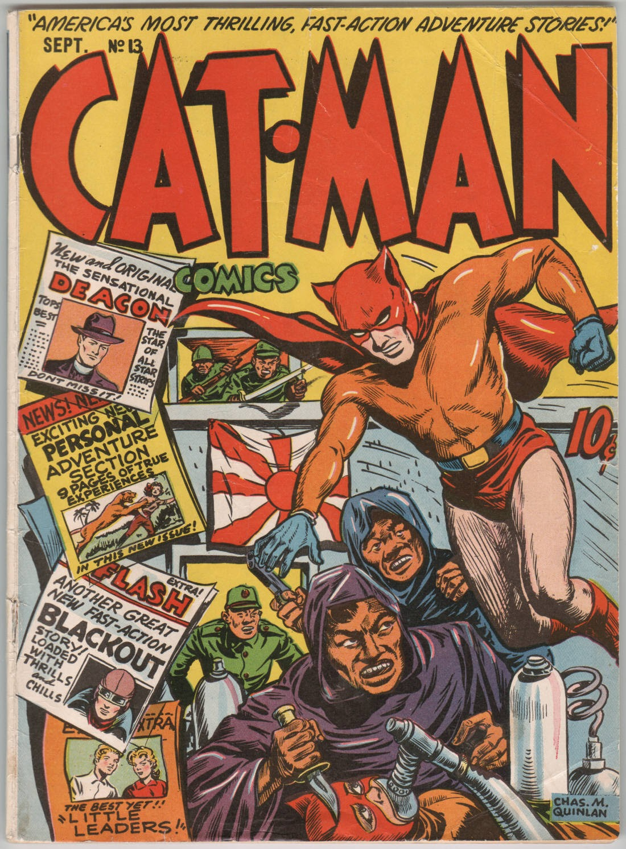 Cat-Man Comics 13 Page 1