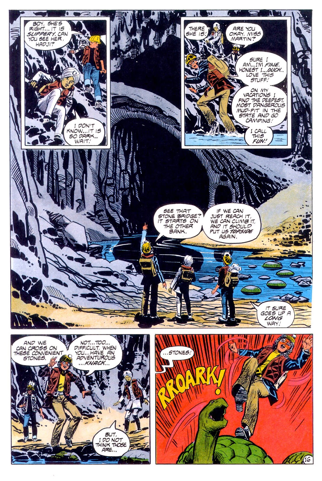 Jonny Quest (1986) issue 12 - Page 19