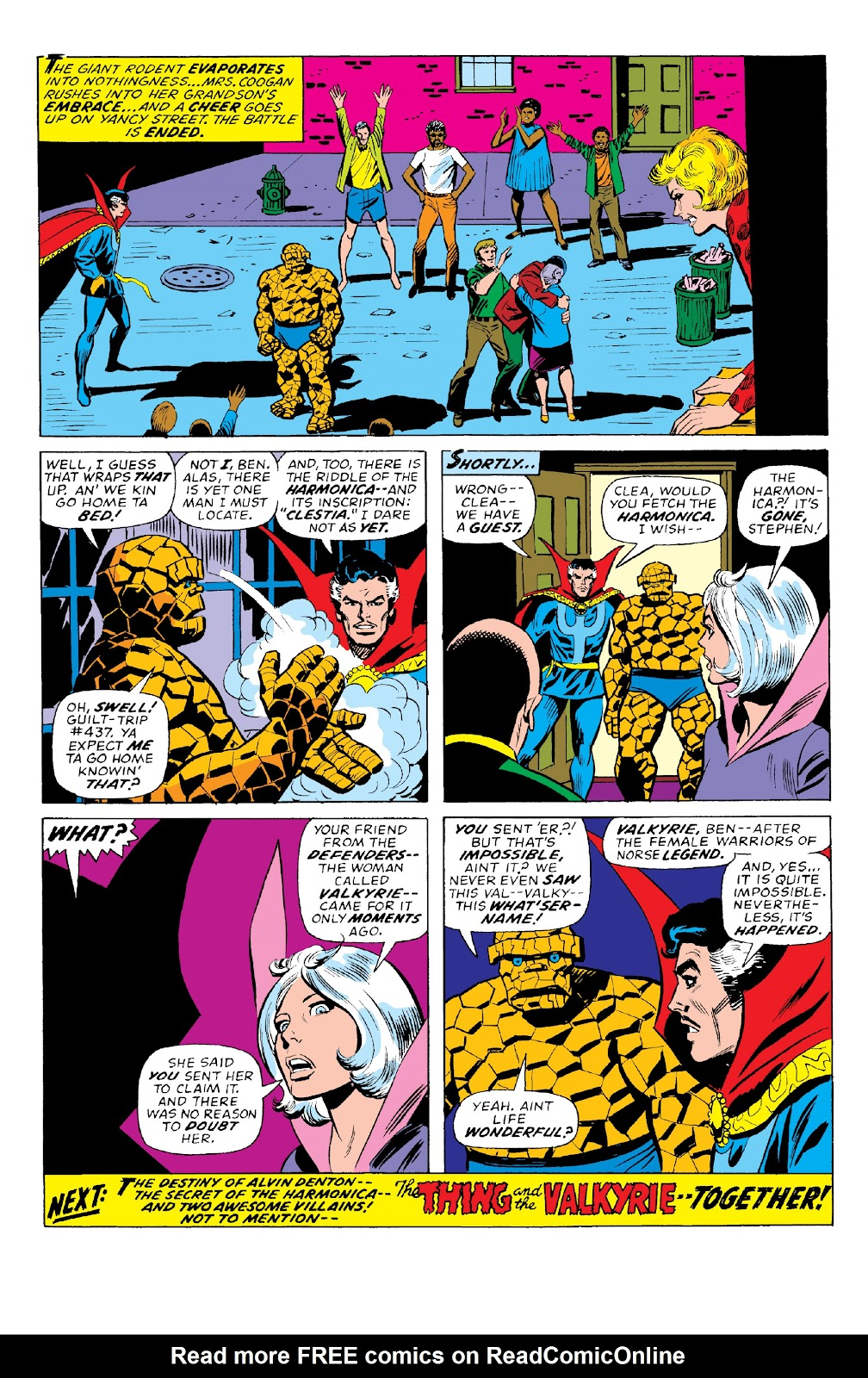 Read online Marvel Two-In-One Epic Collection: Cry Monster comic -  Issue # TPB (Part 2) - 60