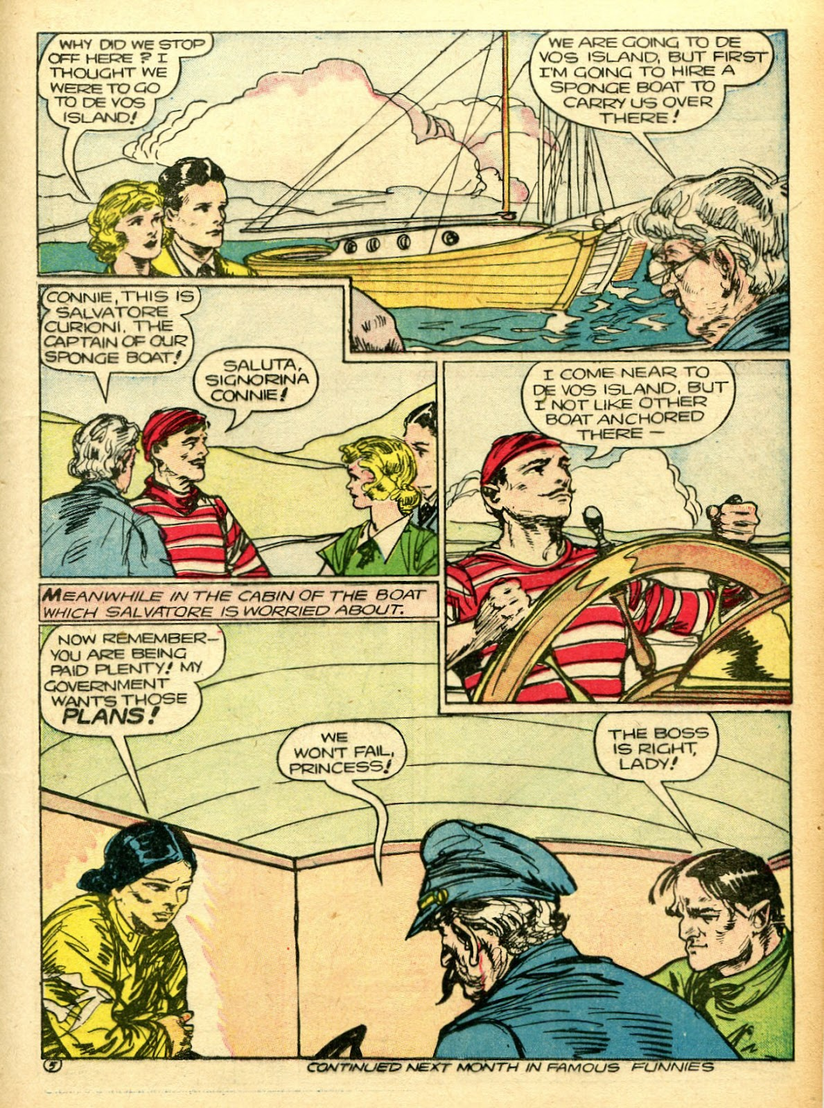 Read online Famous Funnies comic -  Issue #94 - 23