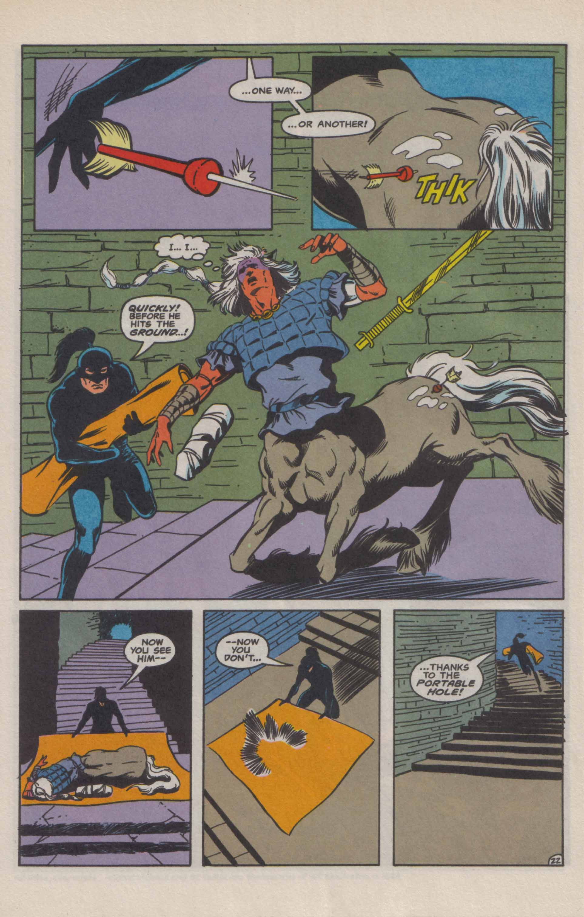 Read online Advanced Dungeons & Dragons comic -  Issue #9 - 23