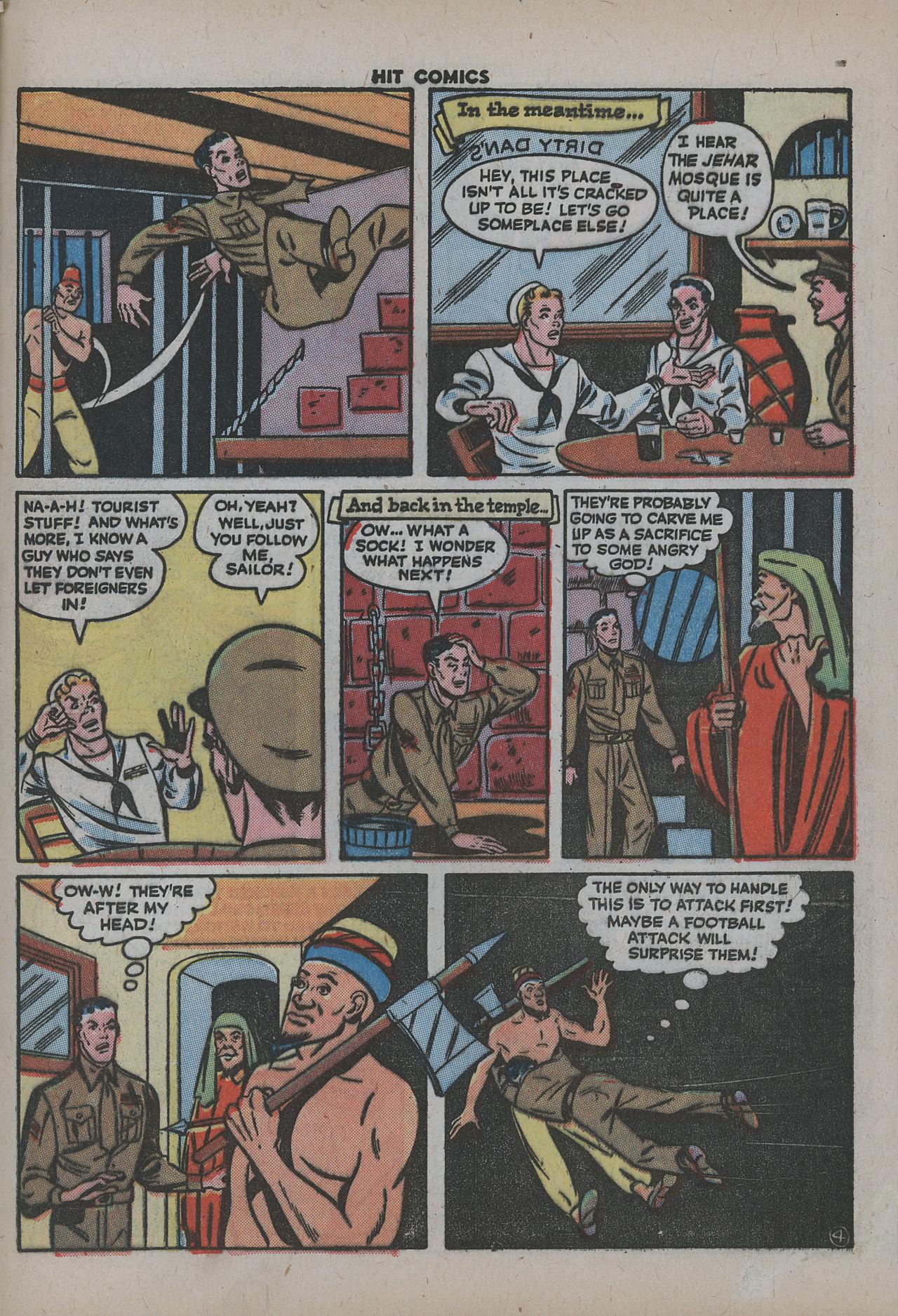 Read online Hit Comics comic -  Issue #38 - 52