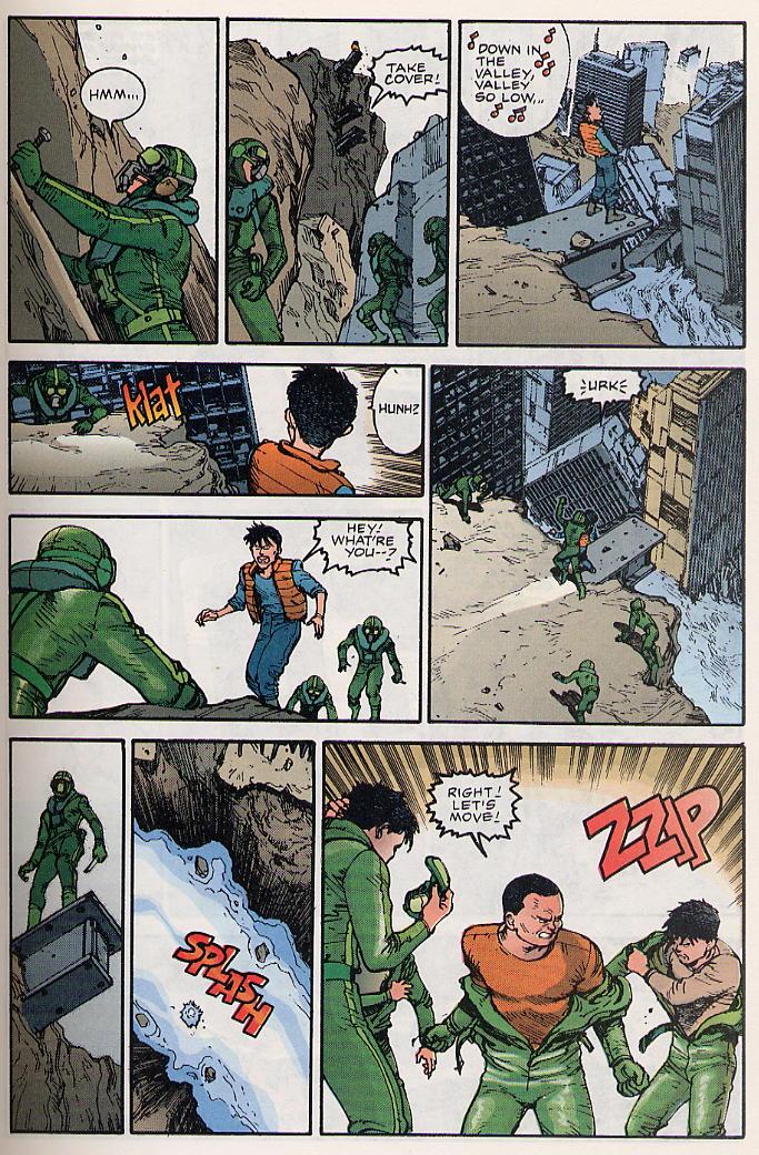 Read online Akira comic -  Issue #17 - 16