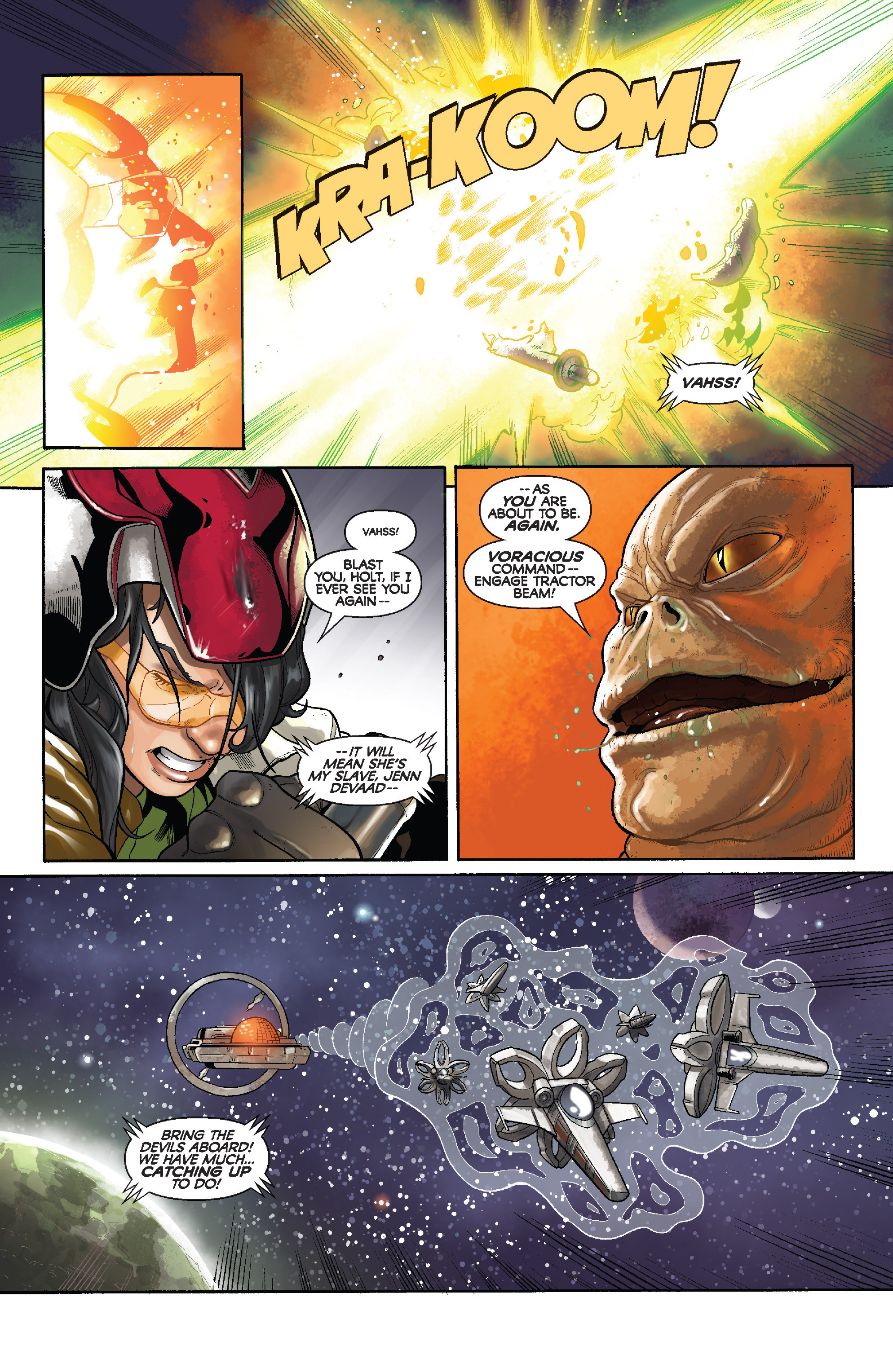 Read online Star Wars: Knight Errant - Deluge comic -  Issue #3 - 8