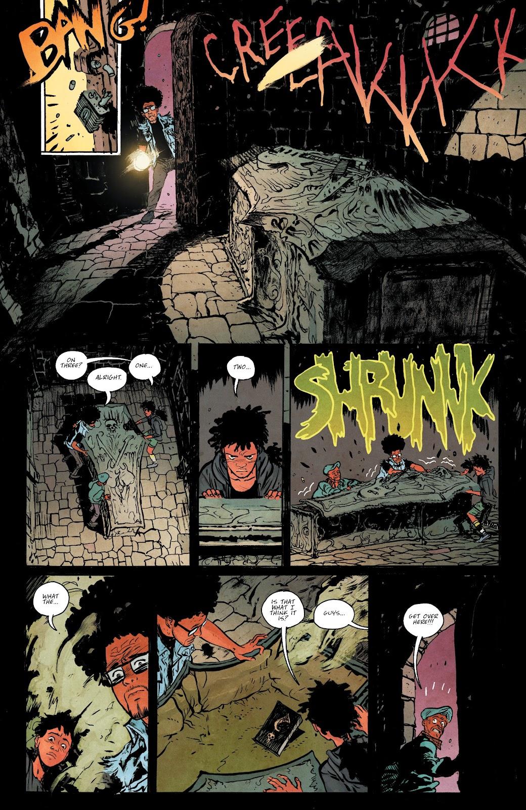 Read online Murder Falcon comic -  Issue #5 - 11