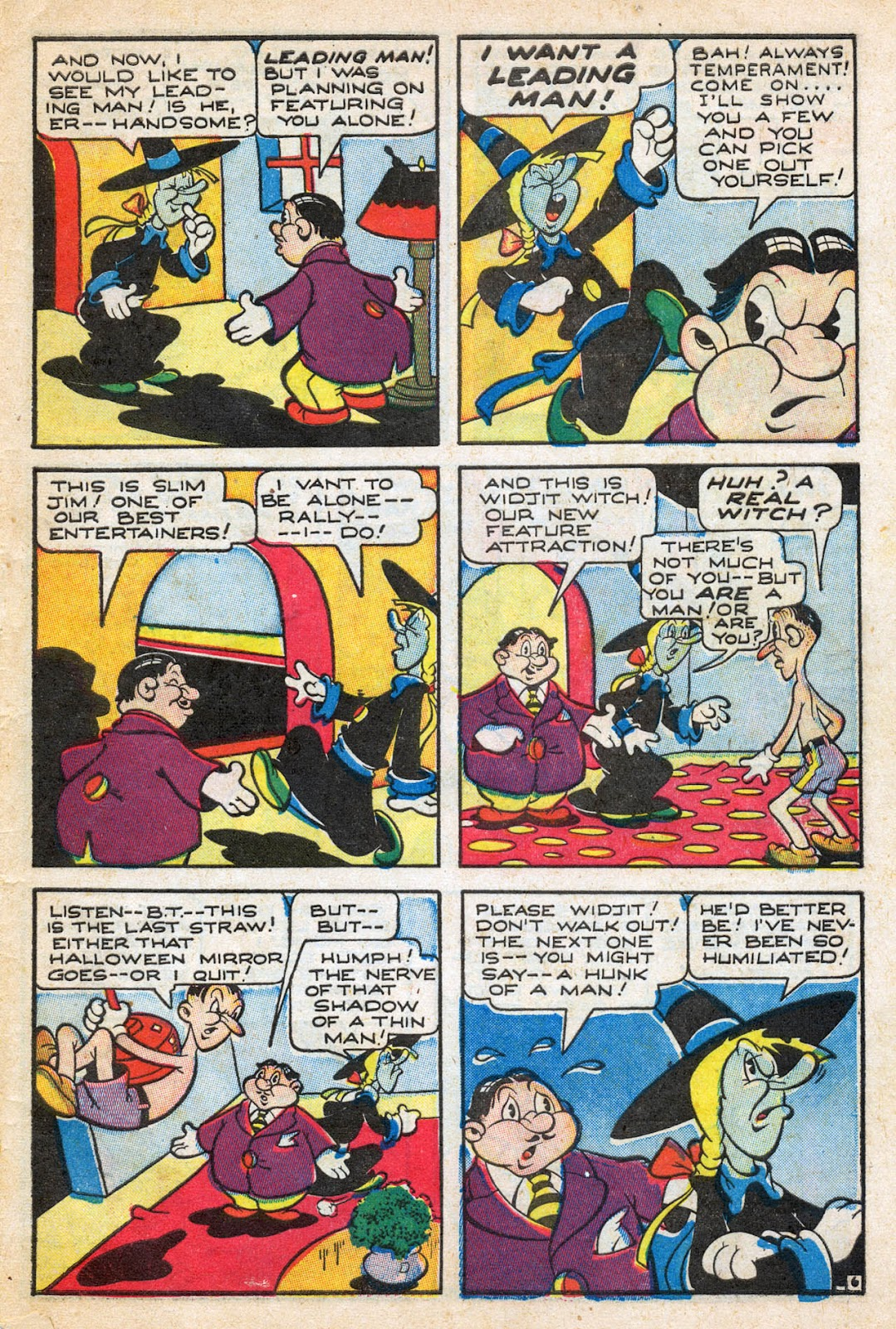 Read online Comedy Comics (1942) comic -  Issue #27 - 31