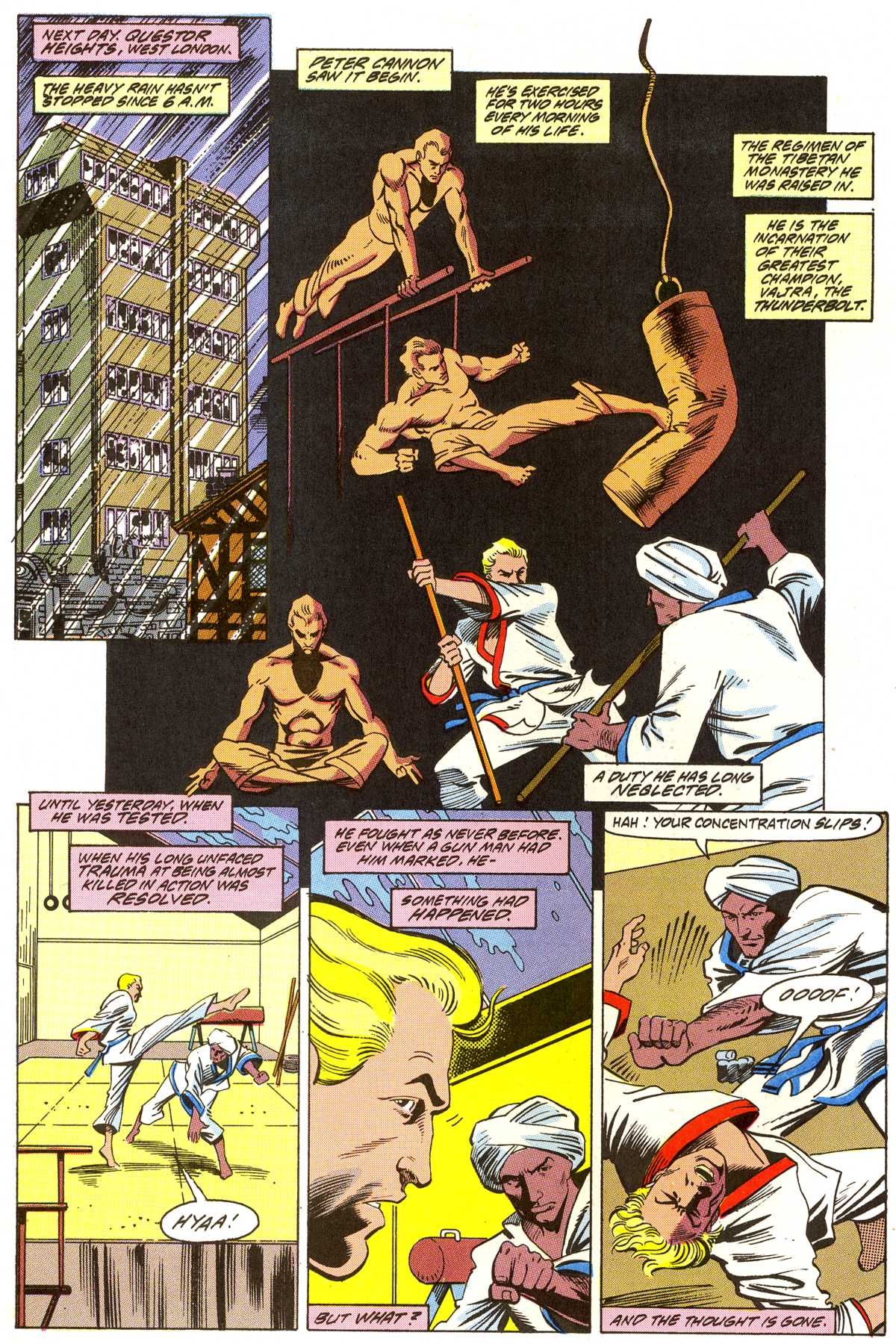 Read online Peter Cannon--Thunderbolt (1992) comic -  Issue #3 - 5