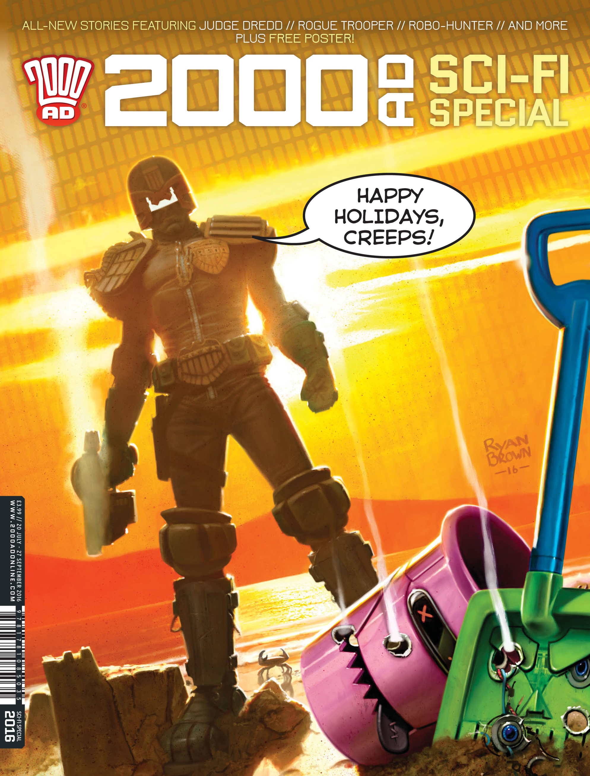 Read online 2000 AD comic -  Issue #2000 AD _Sci-Fi Special 2016 - 1