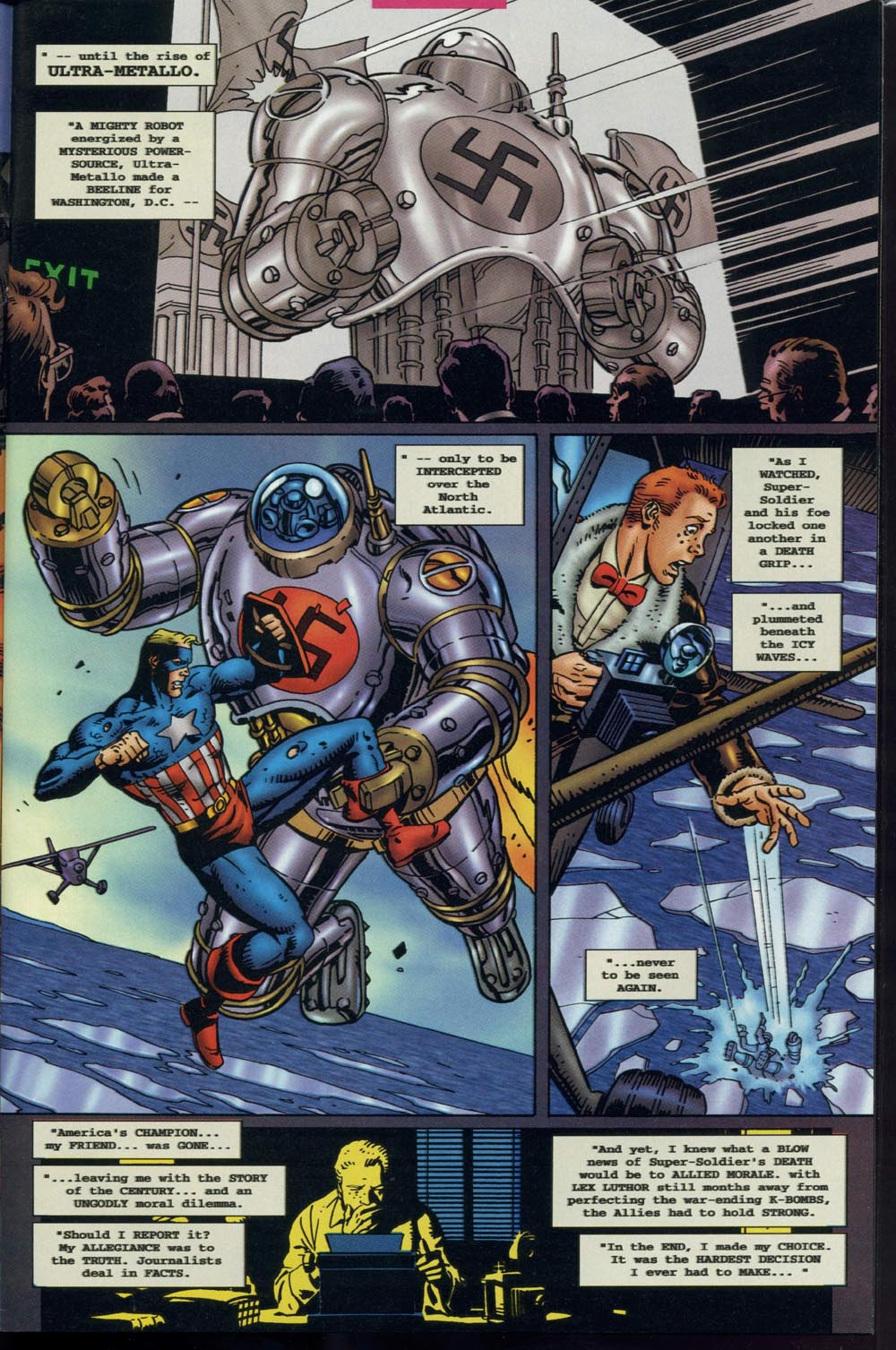 Read online Super Soldier comic -  Issue # Full - 4