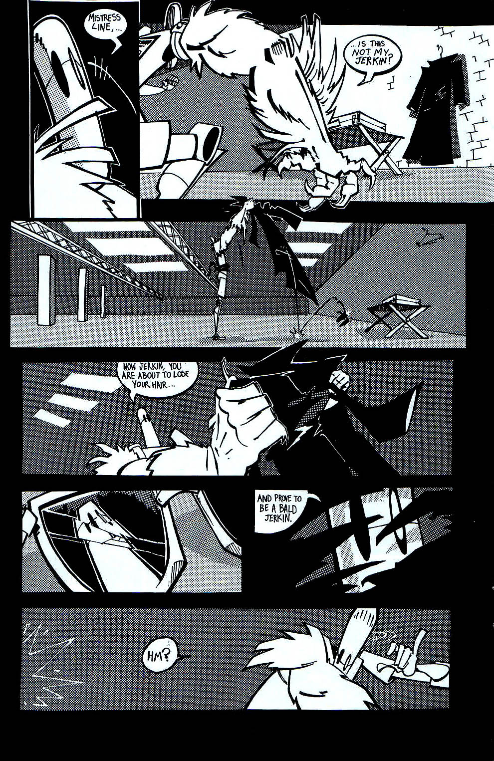 Read online Scud: The Disposable Assassin (1994) comic -  Issue #7 - 7