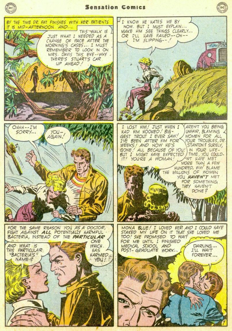 Read online Sensation (Mystery) Comics comic -  Issue #98 - 23