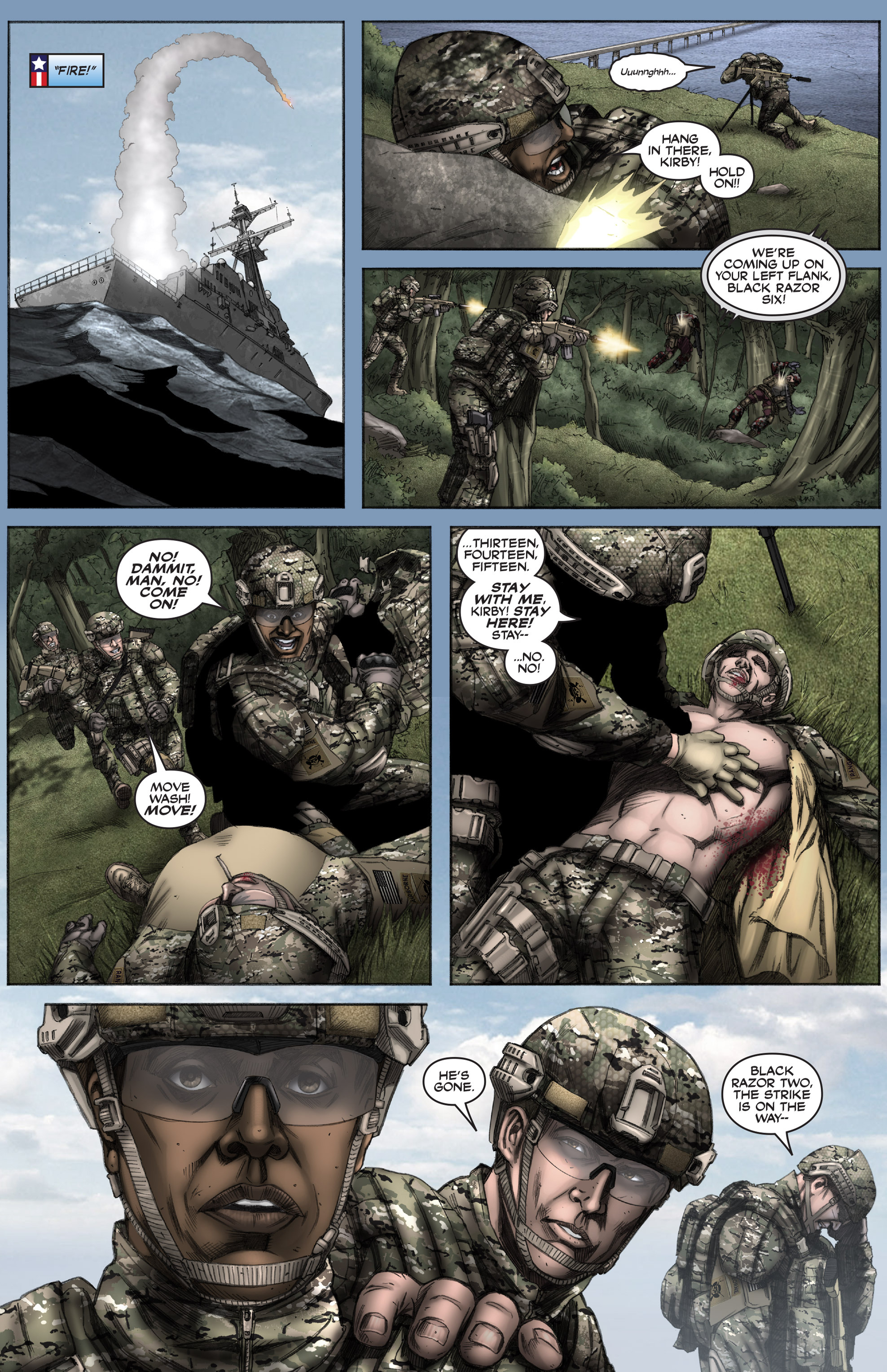 Read online America's Army comic -  Issue #12 - 22