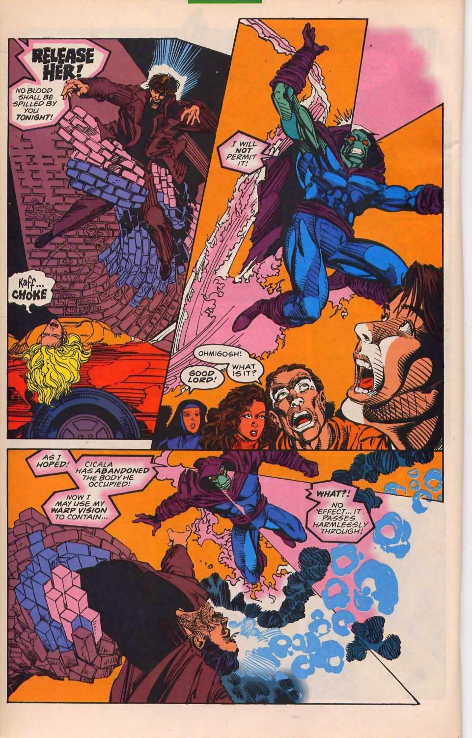 Read online Sleepwalker comic -  Issue #30 - 17