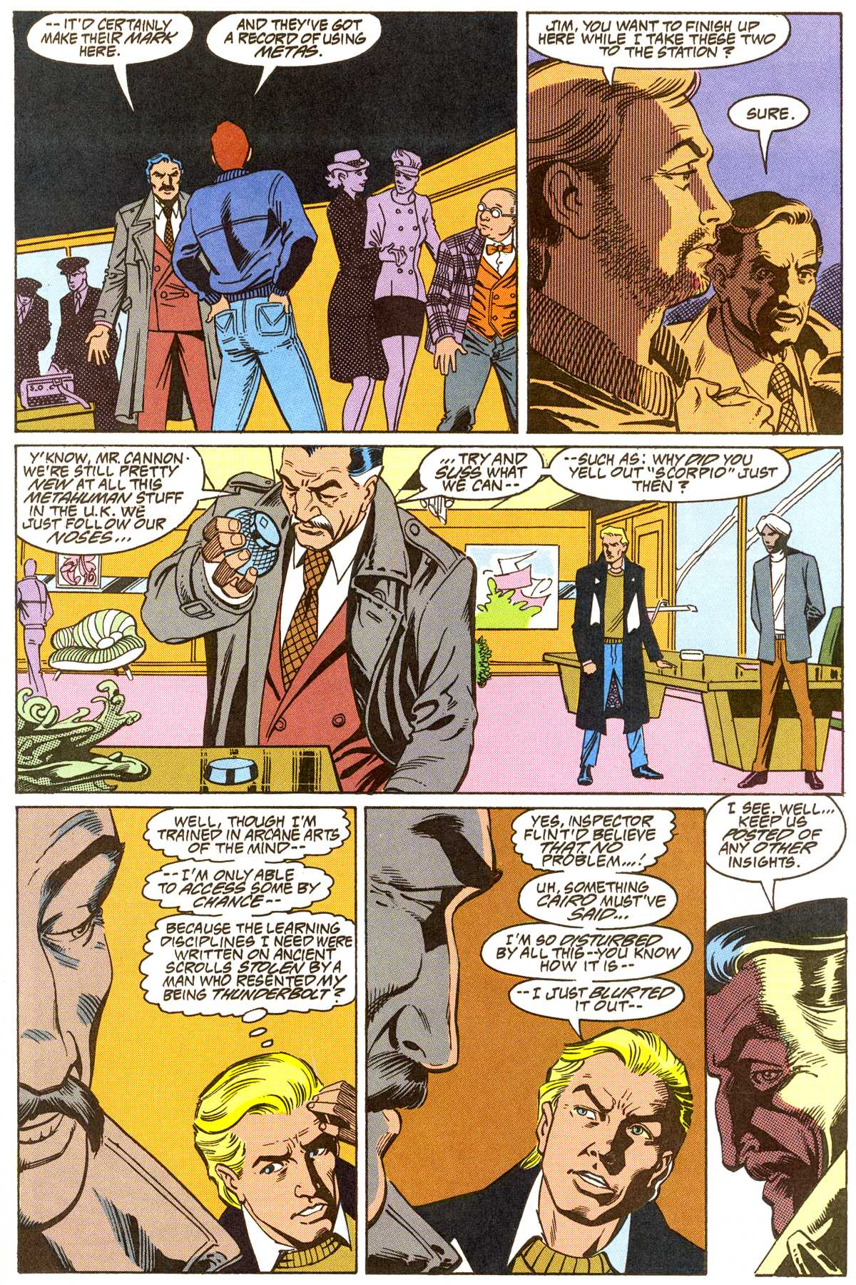 Read online Peter Cannon--Thunderbolt (1992) comic -  Issue #8 - 6