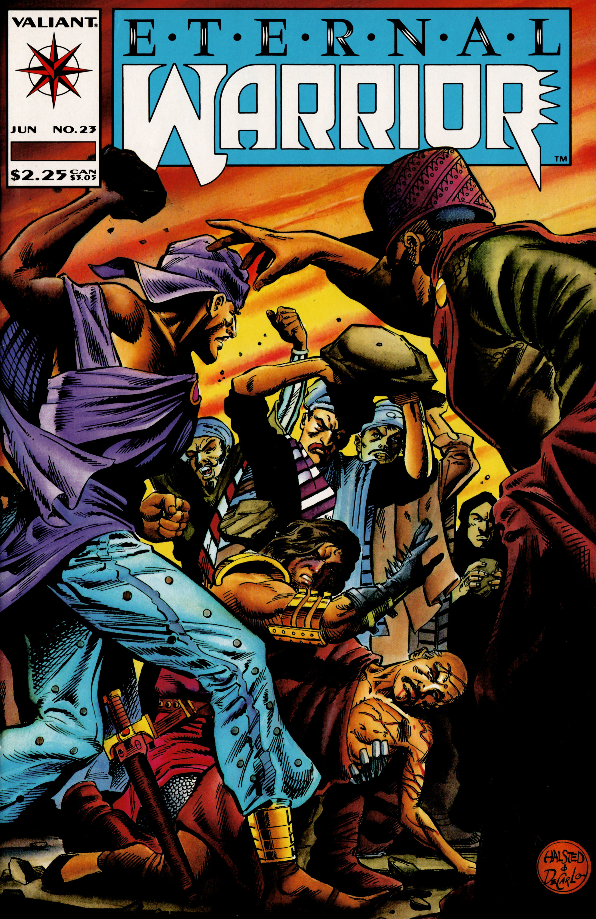 Read online Eternal Warrior (1992) comic -  Issue #23 - 1