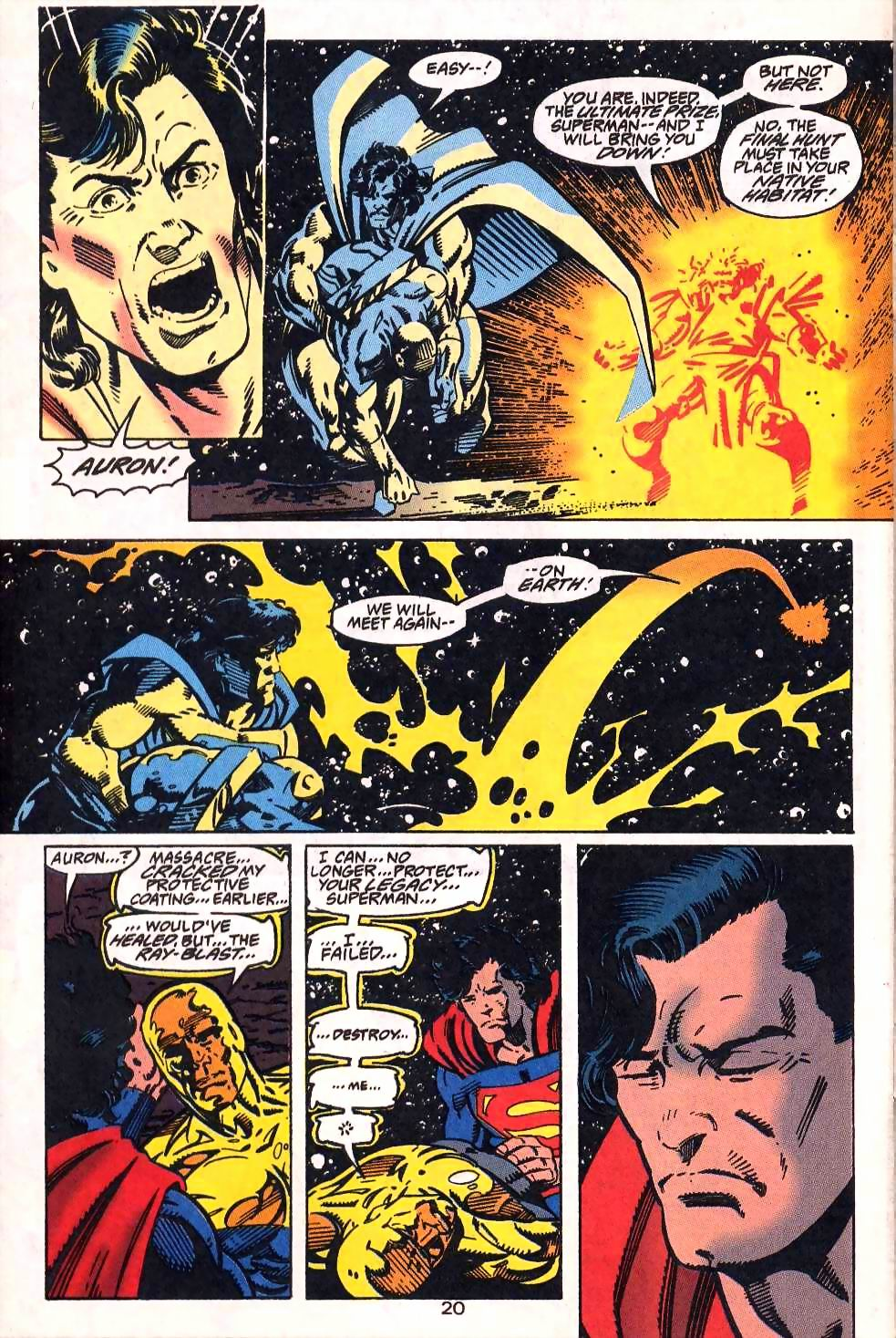 Read online Adventures of Superman (1987) comic -  Issue #509 - 22