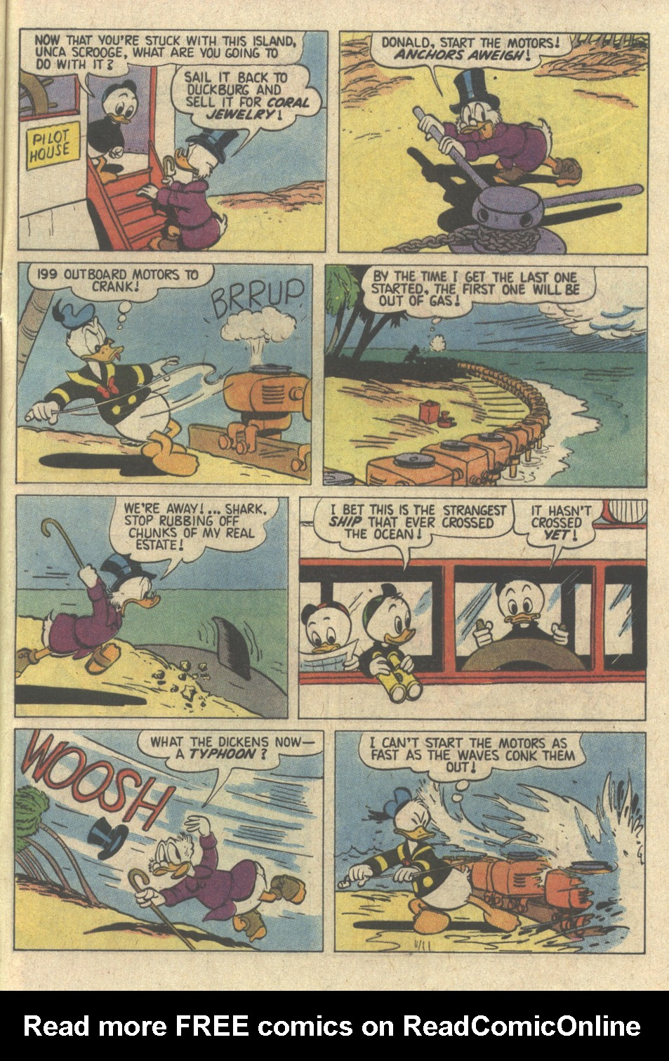 Read online Uncle Scrooge (1953) comic -  Issue #239 - 33
