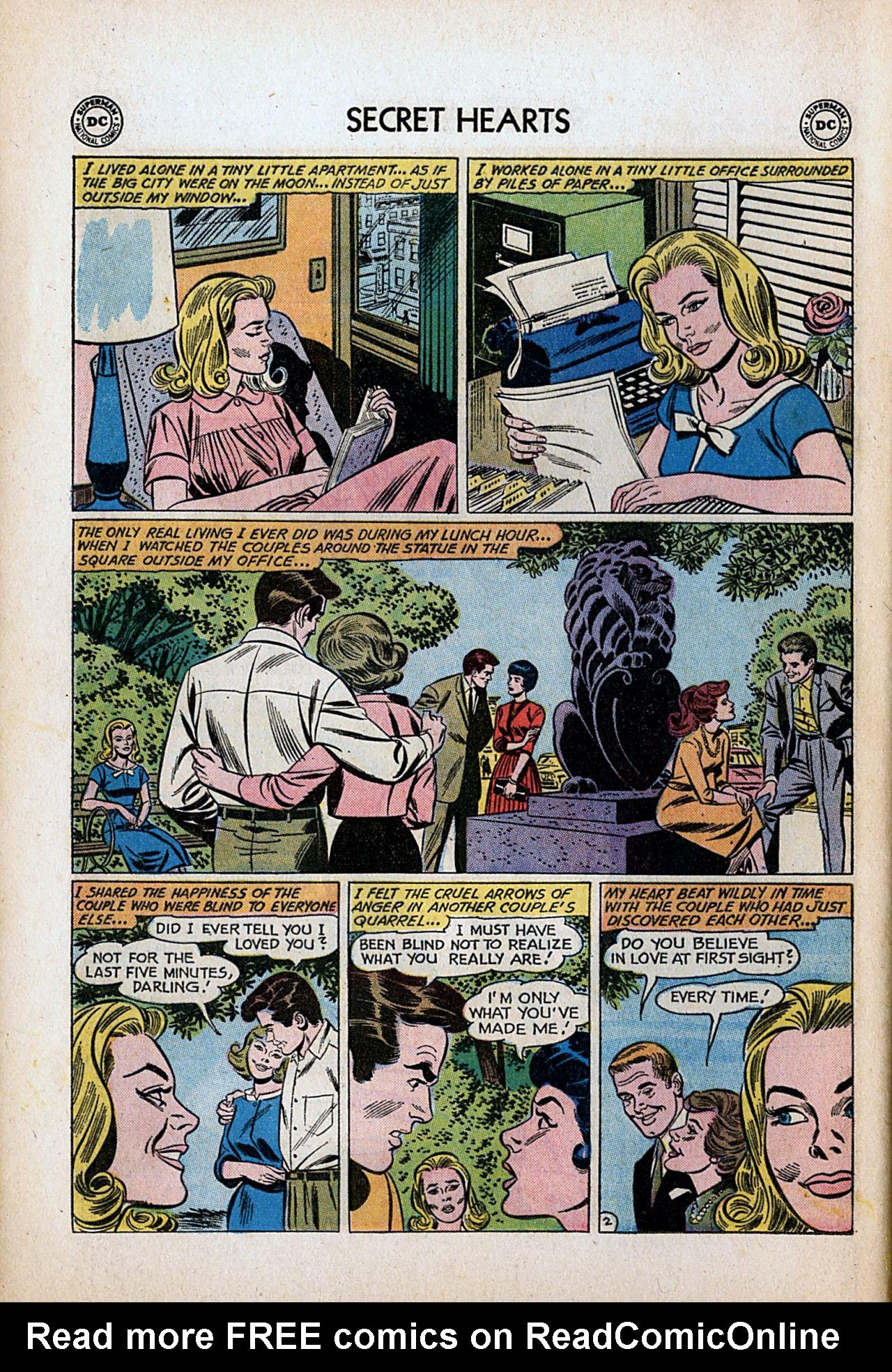 Read online Secret Hearts comic -  Issue #80 - 28