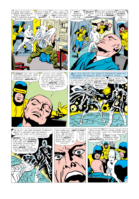 Read online Uncanny X-Men (1963) comic -  Issue #4 - 11