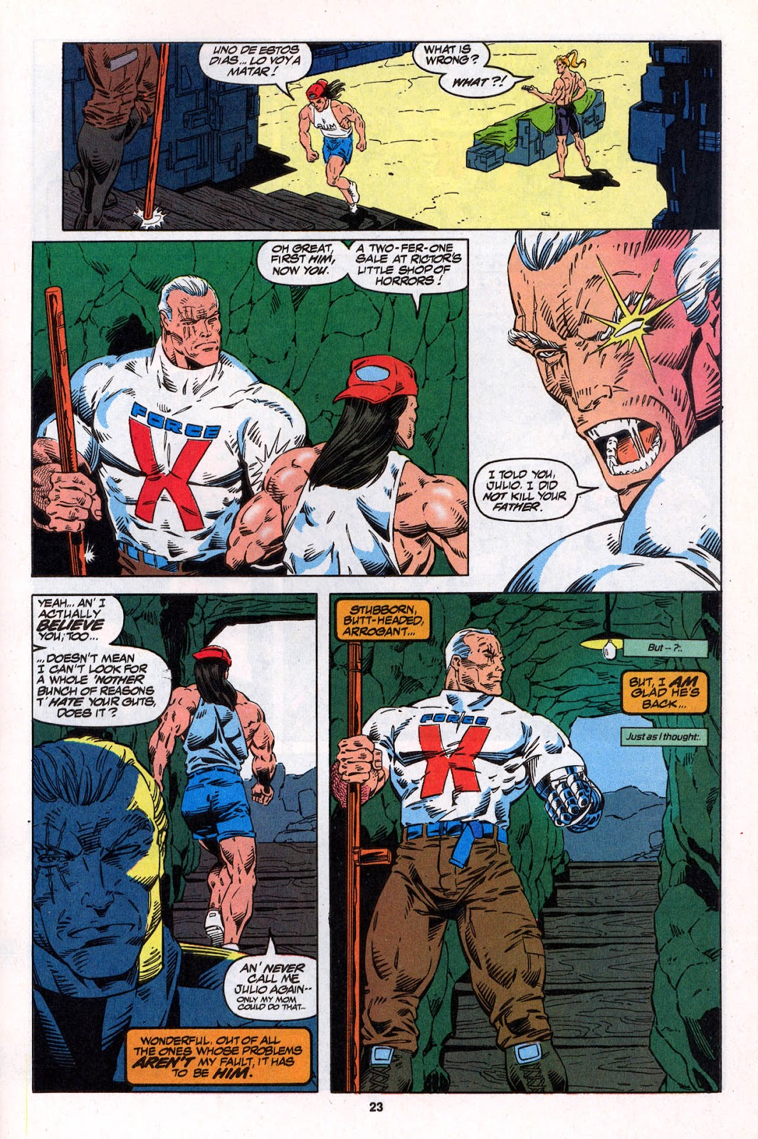 X-Force (1991) Issue #26 #31 - English 23