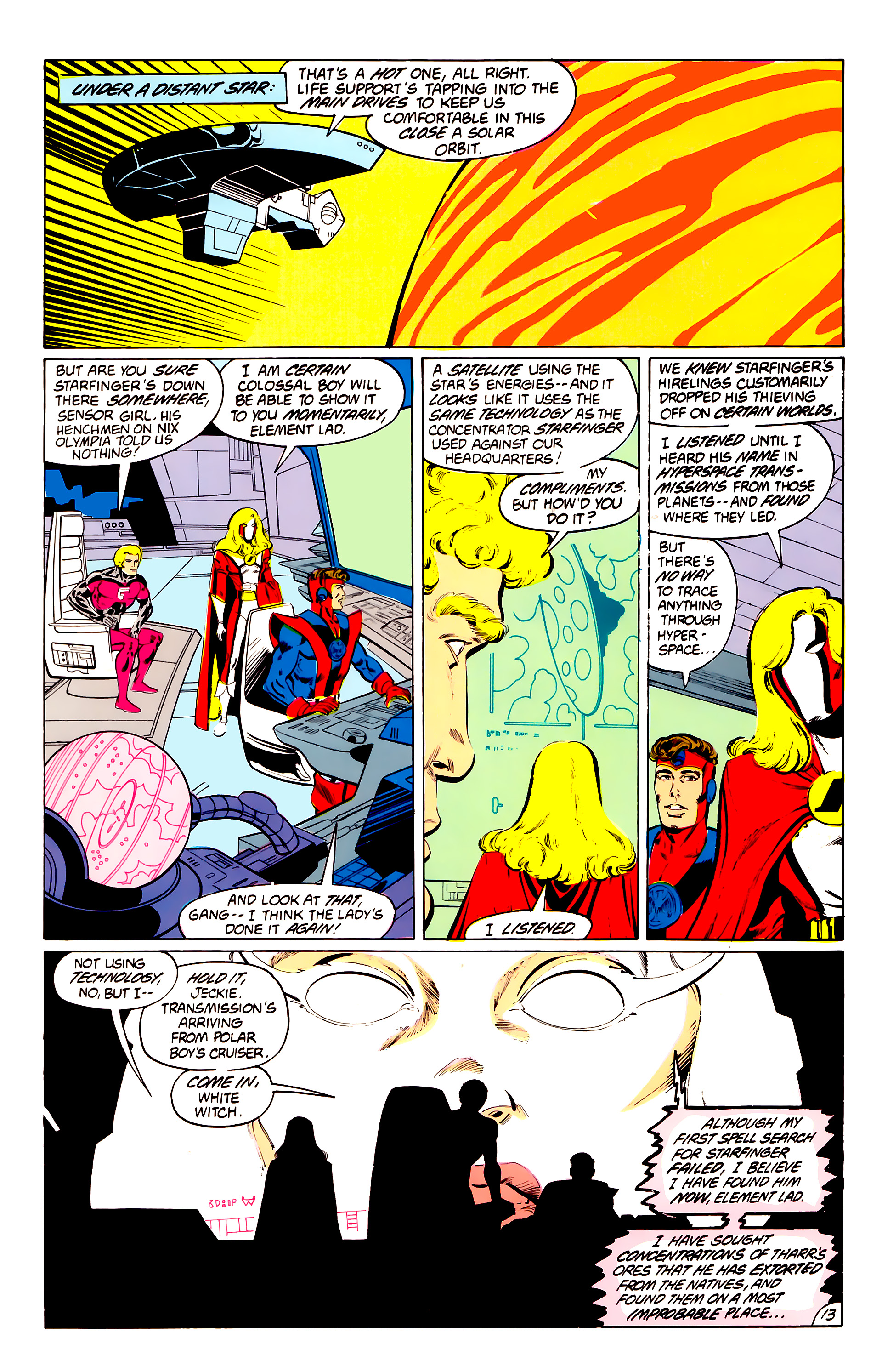 Legion of Super-Heroes (1984) 41 Page 13