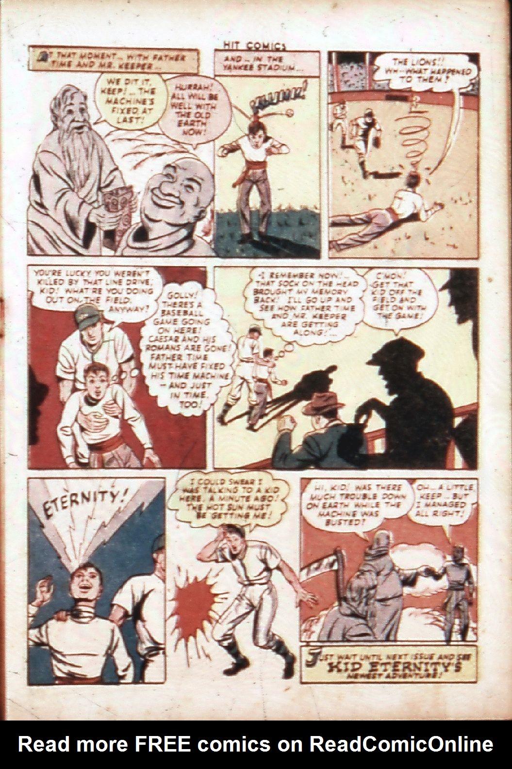 Read online Hit Comics comic -  Issue #30 - 18